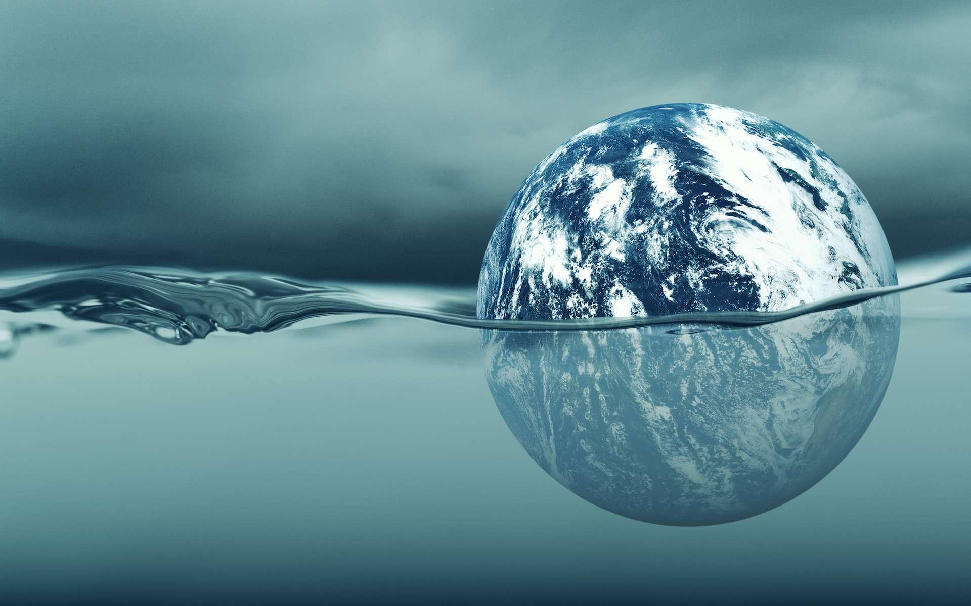 Le plancher océanique se déforme sous le poids des océans en augmentation. © freie-kreation, Adobe Stock