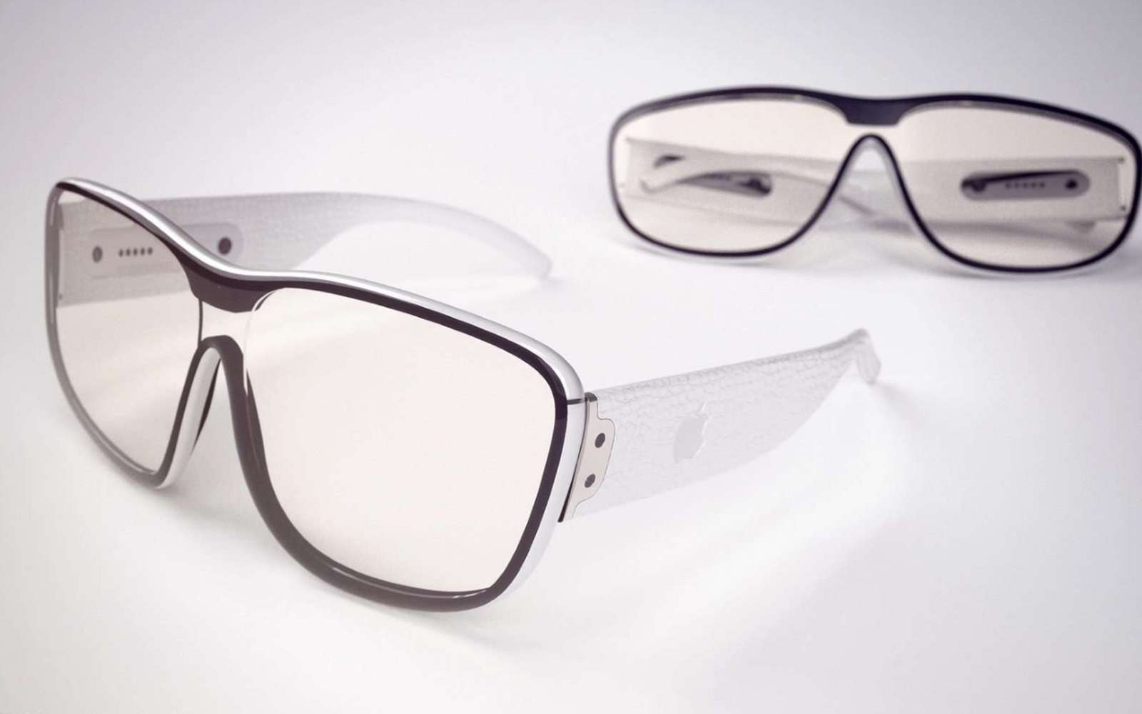 Tapoter un écran qui semble être éteint, mais que seul le porteur des Apple Glass pourrait voir, voici l'idée d'Apple. © iDropnews