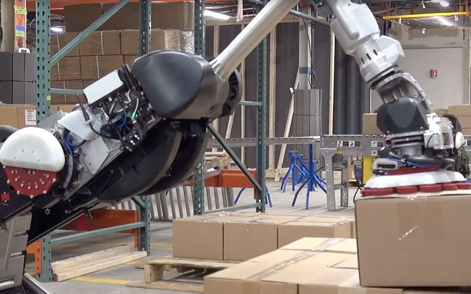 Handle ressemble au robot humanoïde Atlas de Boston Dynamics. © Boston Dynamics