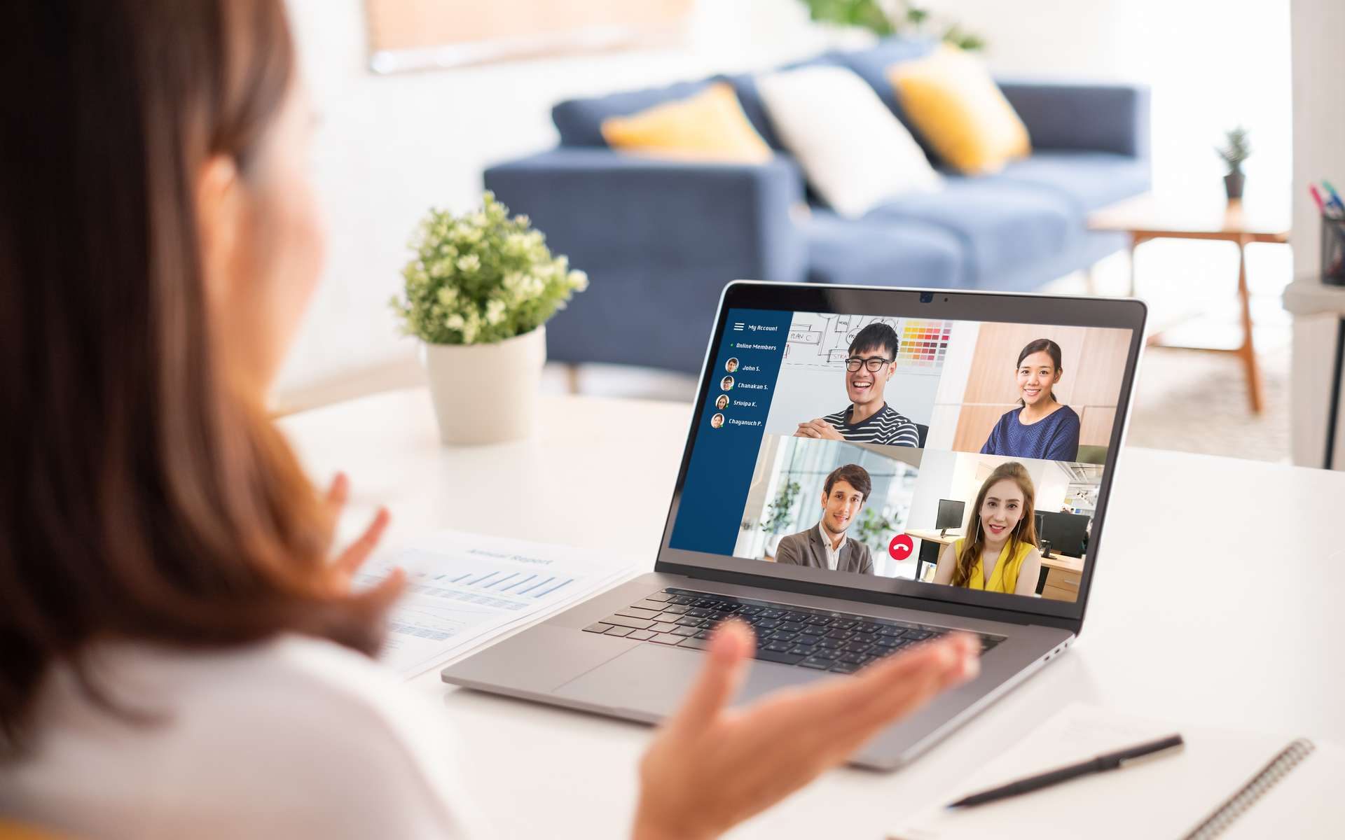 Télétravail : qu'est-ce que ça va changer pour les salariés et les entreprises ? © Nattakorn, Adobe Stock
