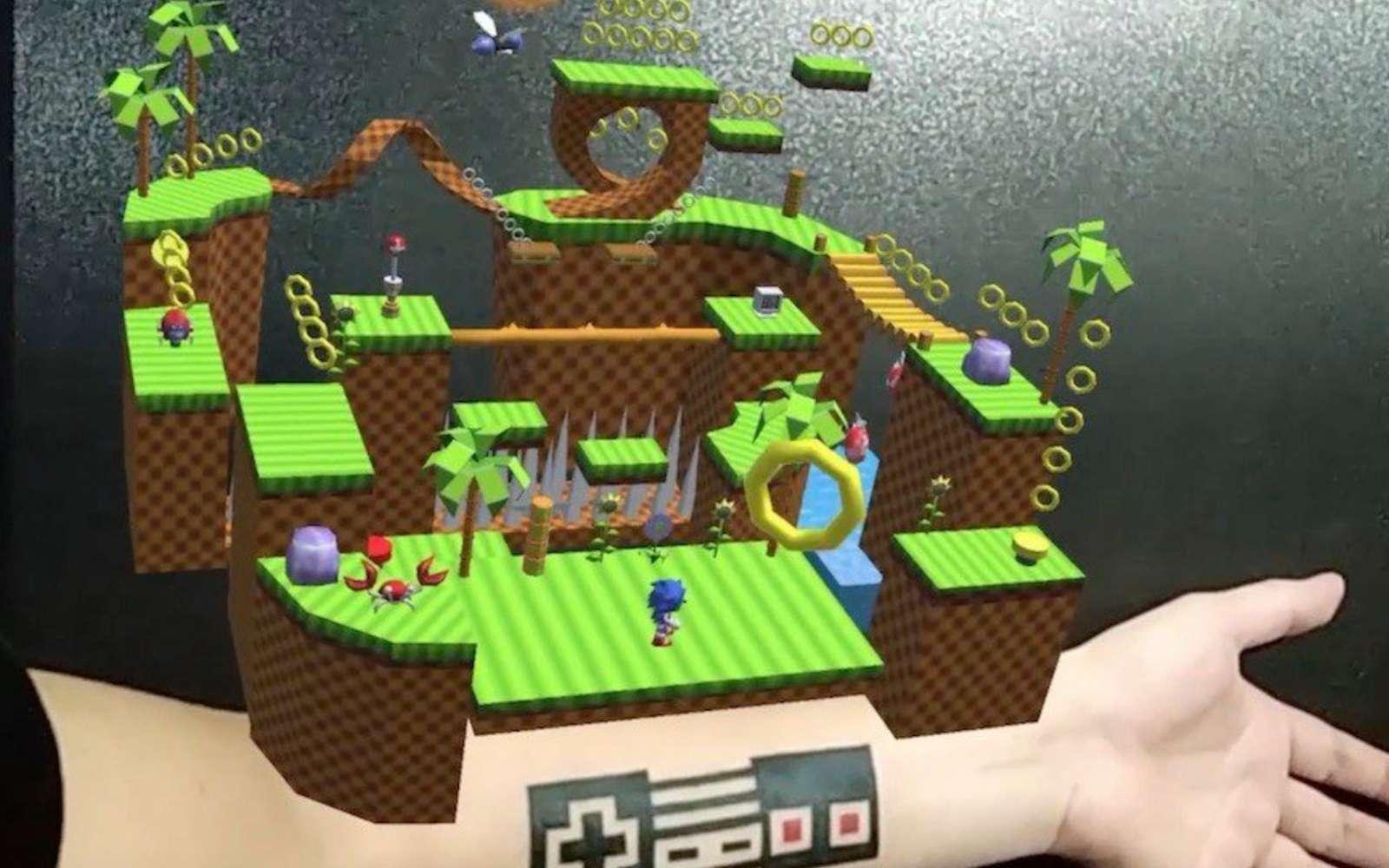 Un tatouage d'un contrôleur Nintendo pour jouer au plus célèbre des héros Sega. © Olo Sabandija