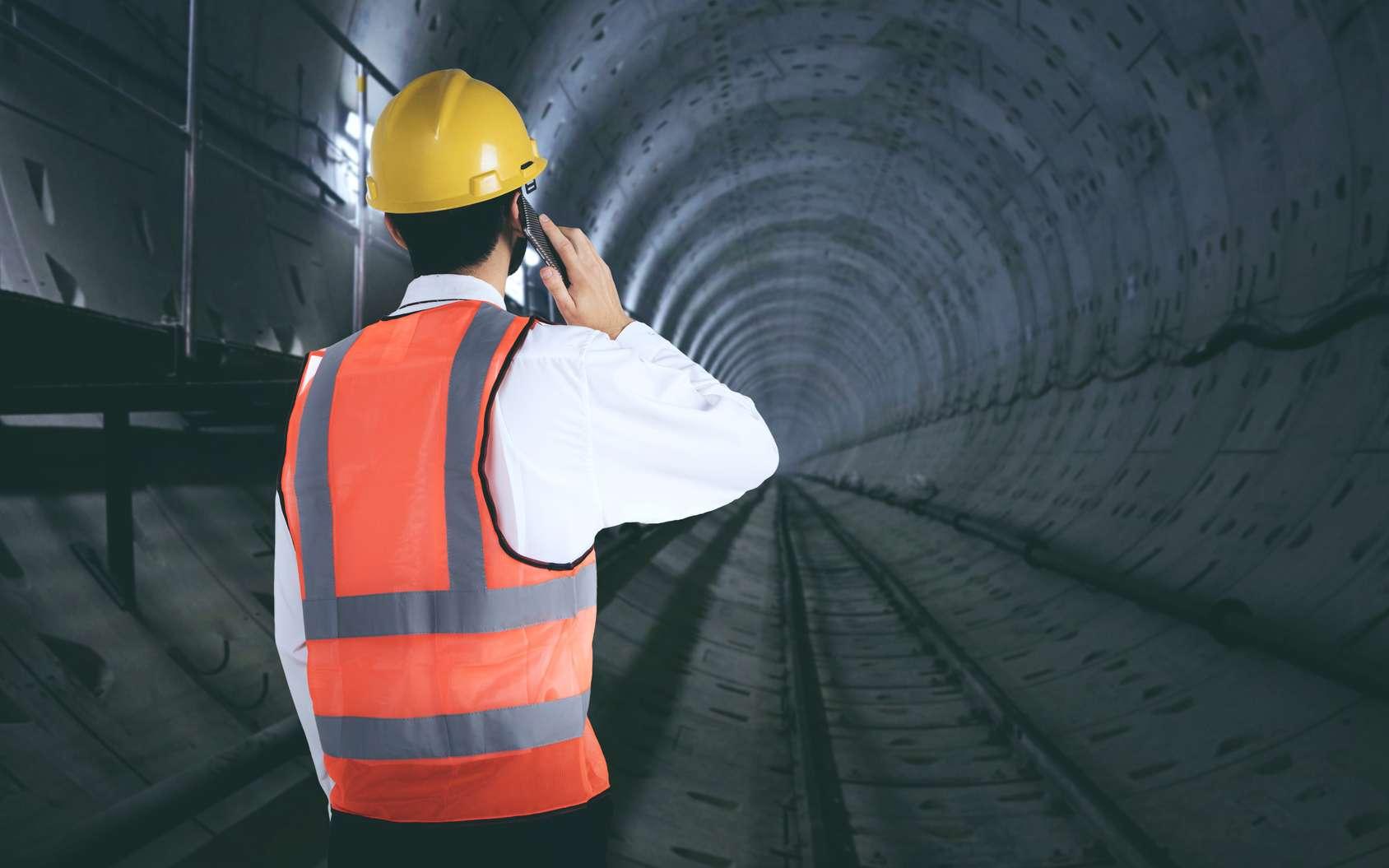 D'ici 2030, 200 km de nouvelles lignes de métro seront percées pour le chantier du Grand Paris Express. © Creativa Images, Fotolia