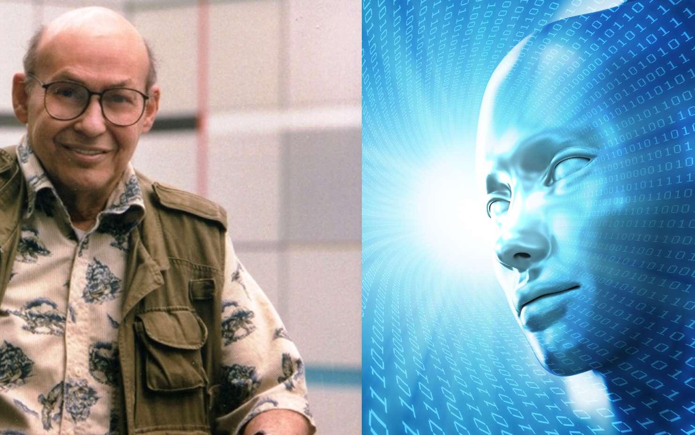 Marvin Minsky était un pionnier des réseaux de neurones artificiels. Son nom apparaît dans le célèbre ouvrage d'Arthur Clarke 2001, l'Odyssée de l'espace. Ses idées sur l'intelligence artificielle sont présentées dans deux ouvrages : La machine à émotions et La société de l'esprit. © Louis Fabian Bachrach et Mopic, Shutterstock