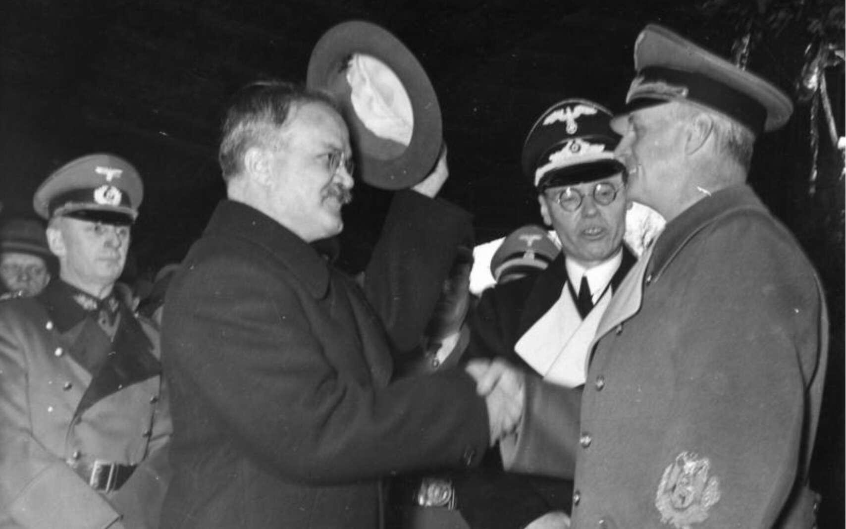 Le pacte germano-soviétique a été signé le 23 août 1939. © Bundesarchiv, Bild 183-1984-1206-523, CC-by-sa 3.0 DE