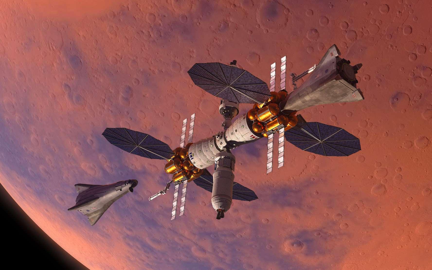 Cet avant-poste n'utilise pas de technologie révolutionnaire. Il s'appuie sur le véhicule Orion que construit actuellement Lockheed Martin et d'autres modules d'habitation développés dans le cadre de contrats passés avec la Nasa. © Lockheed Martin