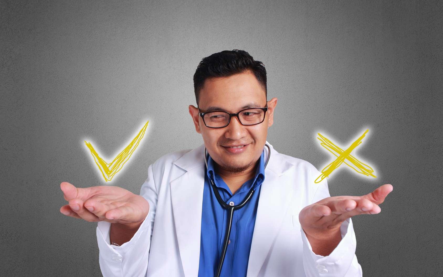 Les pratiques médicales contredites par la science. © airdone, Fotolia