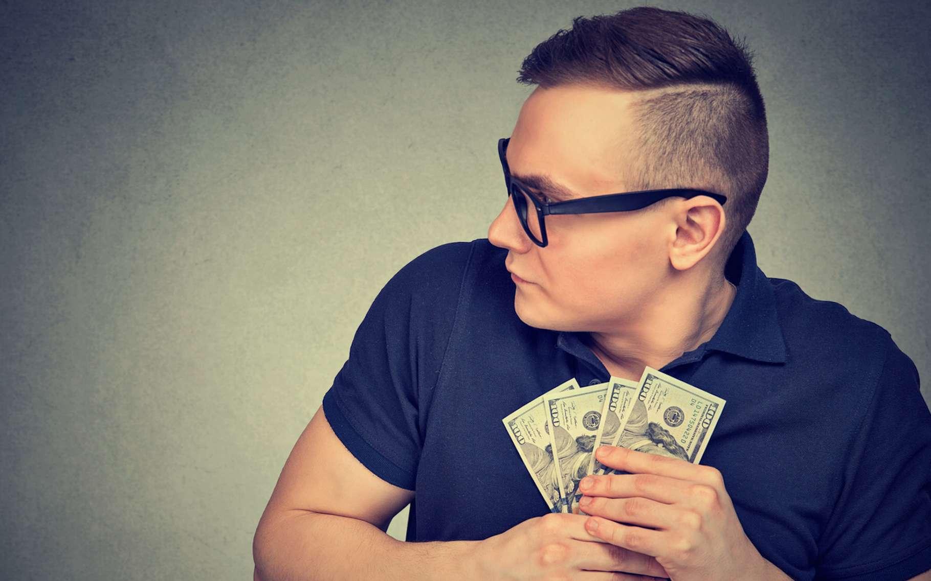 Pour l'avare, l'argent est une fin. L'avarice doit-elle pour autant être considérée comme un péché et un péché capital qui plus est? © Feodora, Fotolia