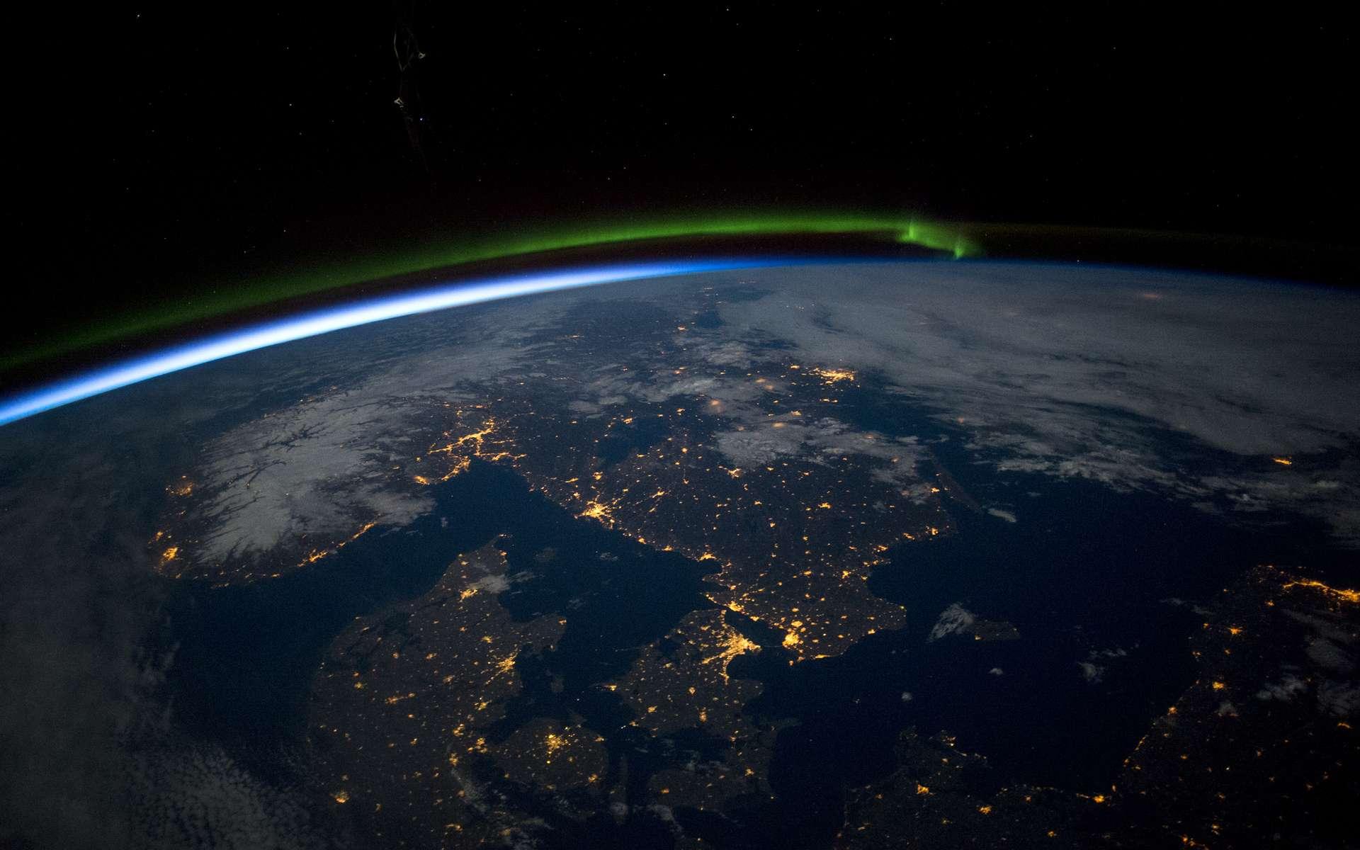 La Scandinavie vue de la Station spatiale en 2015. © Nasa, EarthObservatory