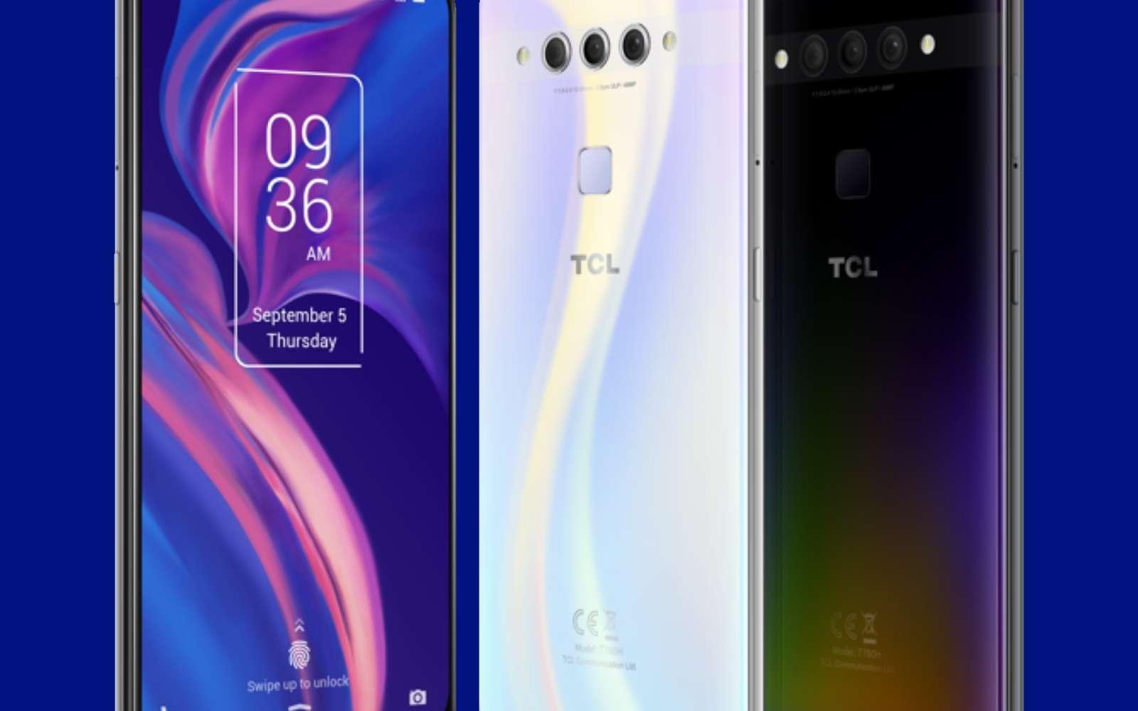 Le Plex de TCL dispose d'une fiche technique alléchante avec ses trois capteurs photos, sa configuration musclée et son écran promettant un affichage de qualité. Il sera vendu au tarif très agressif de 329 euros. © TCL
