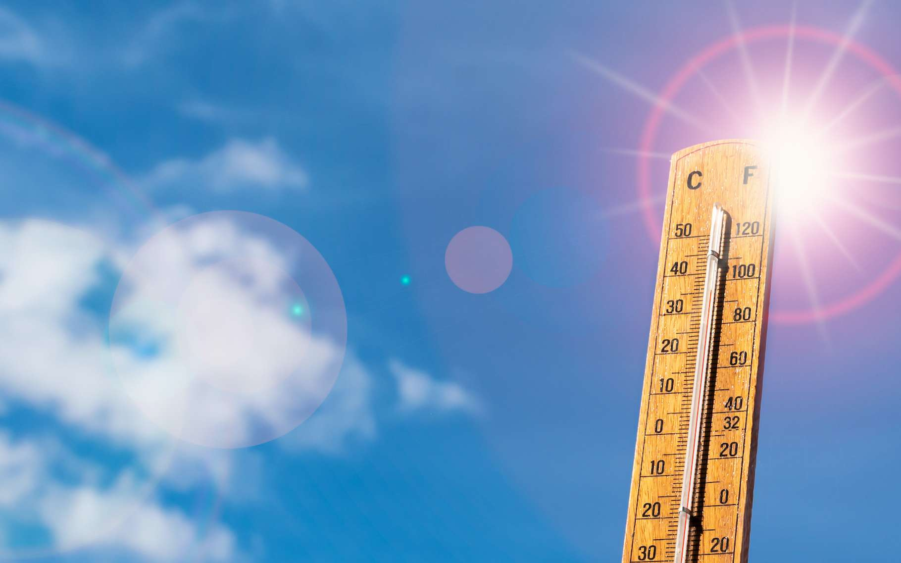 Il fait très chaud sur la Planète, sauf en France!
