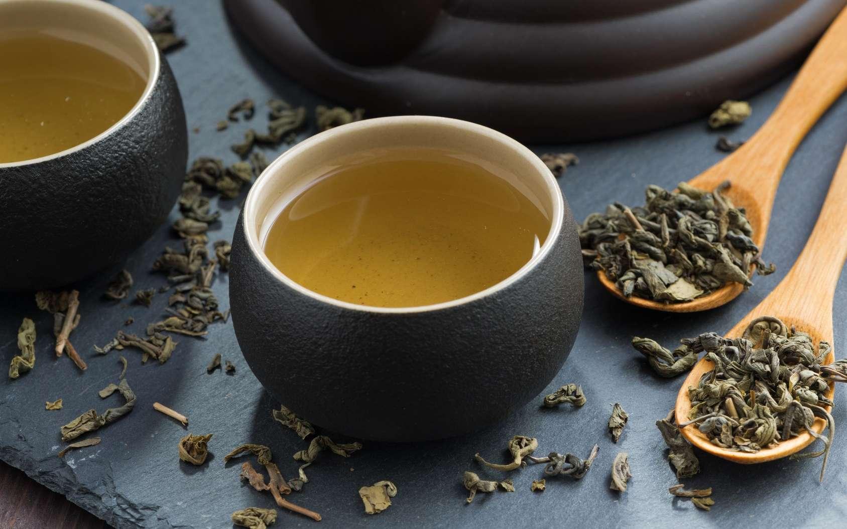 Le thé vert contient des catéchines. © cook_inspire, Fotolia