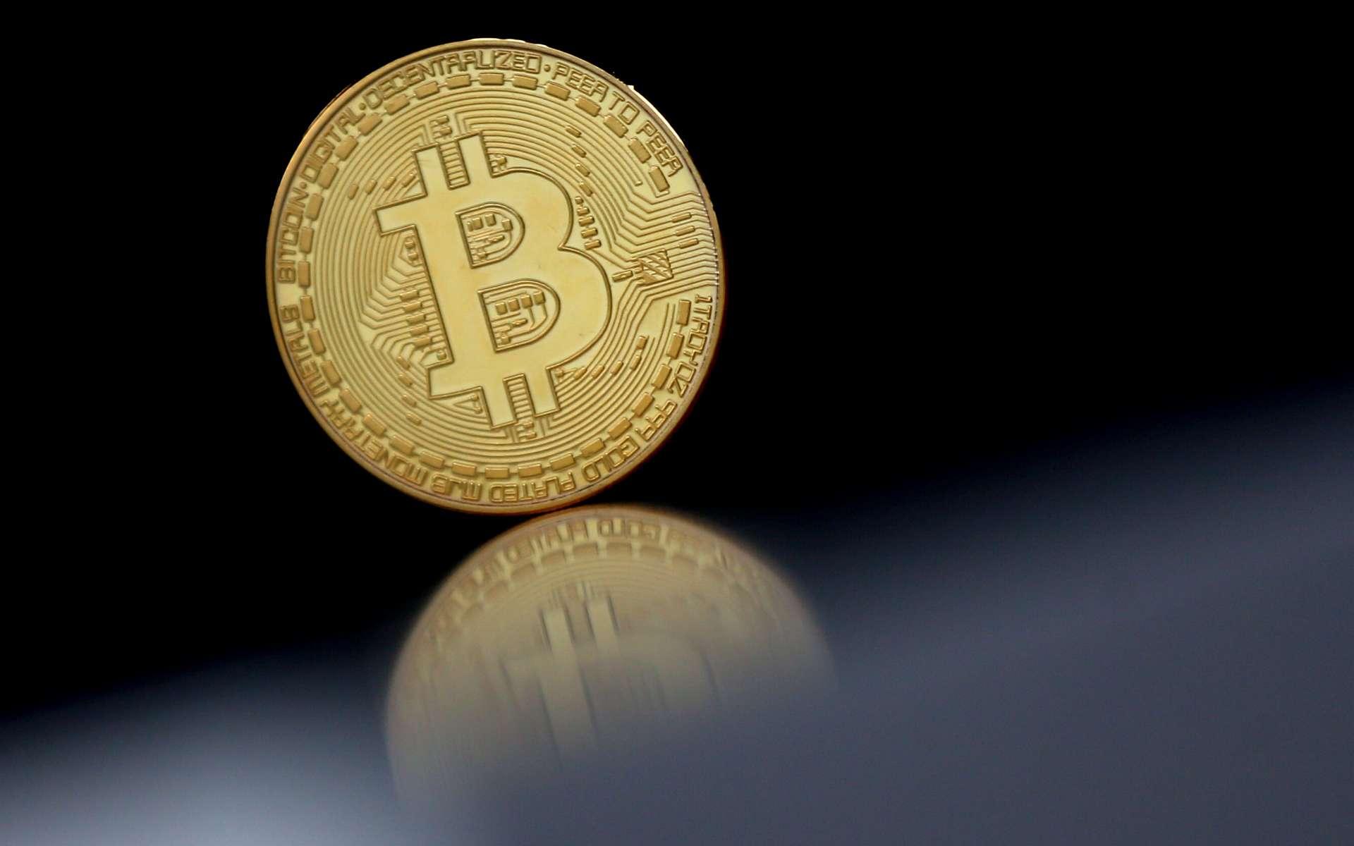 Le Bitcoin, principale cryptomonnaie. © Lionel, Adobe Stock