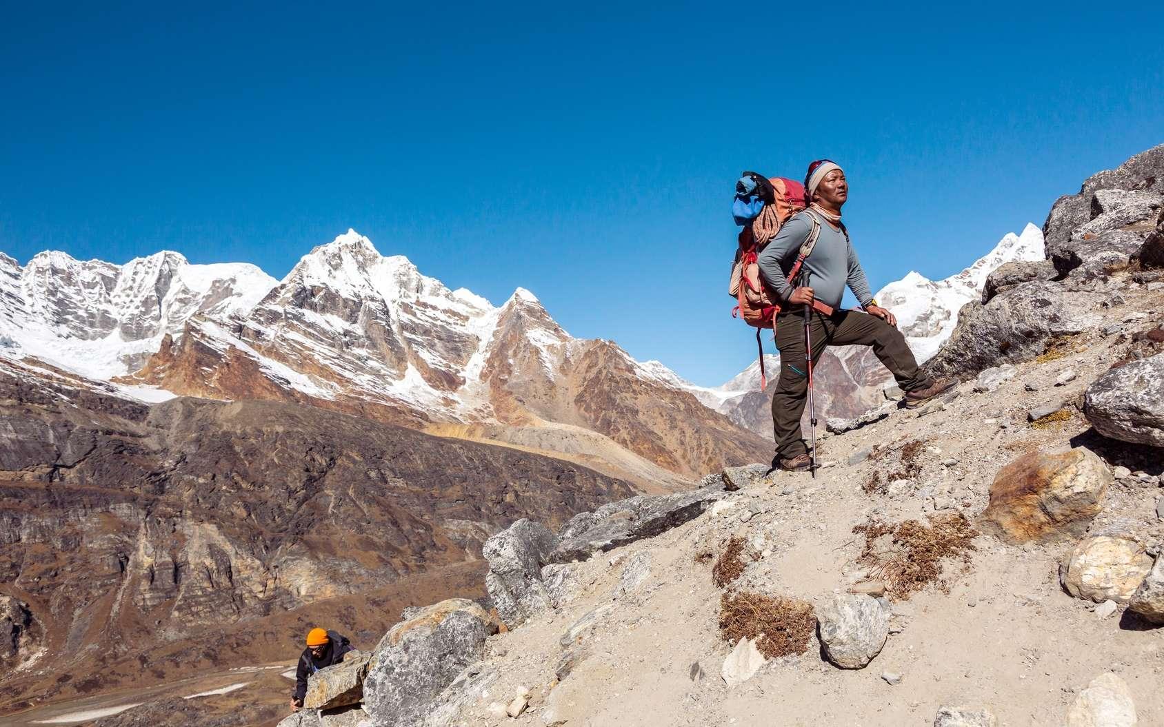 Comment la biologie explique-t-elle les performances des Sherpas ? © alexbrylovhk, Fotolia