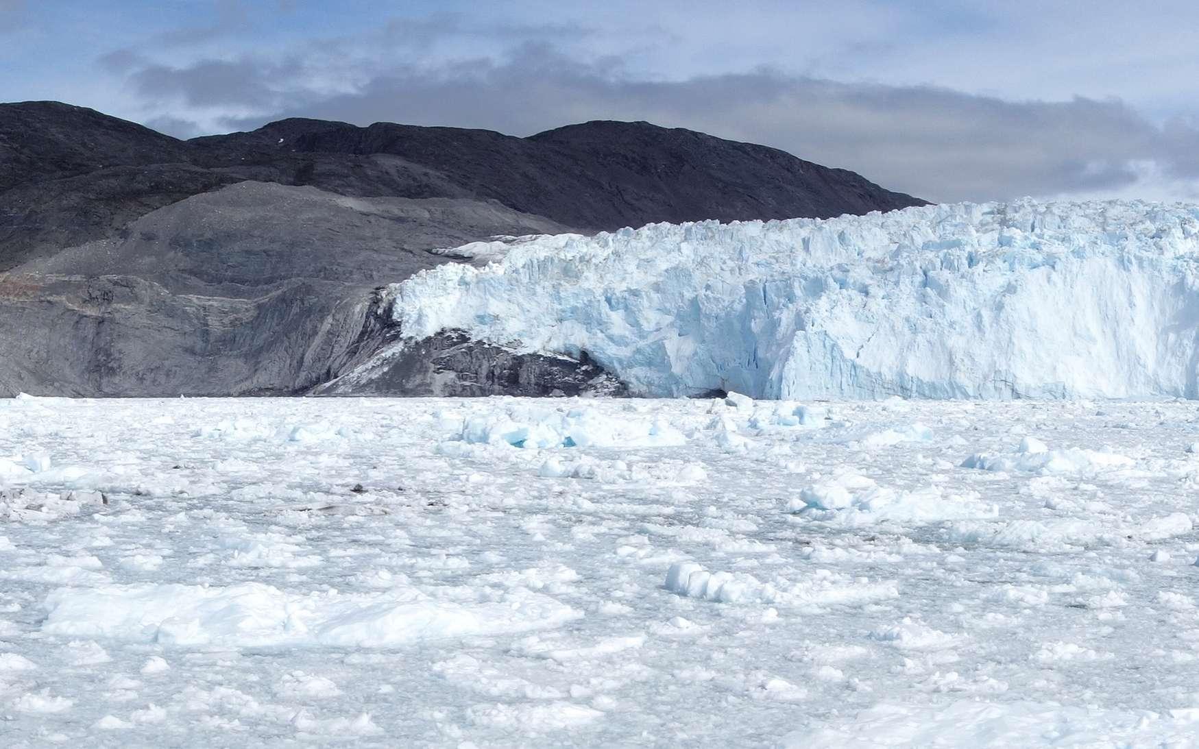 Le glacier Eqi au Groenland. © Hortigüela, Fotolia