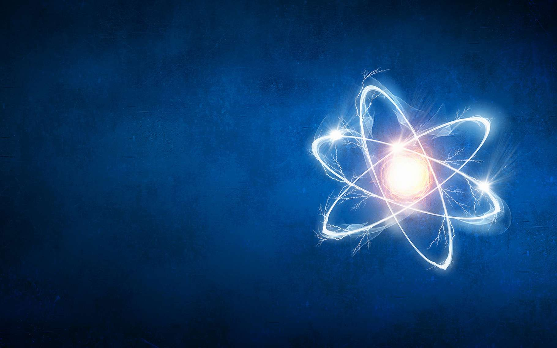 Au cœur de chaque atome, il y a au moins un proton. Ainsi la particule fait-elle l'objet de nombreuses études visant à en révéler les secrets. Parmi lesquels, sa taille. © Sergey Nivens, Fotolia