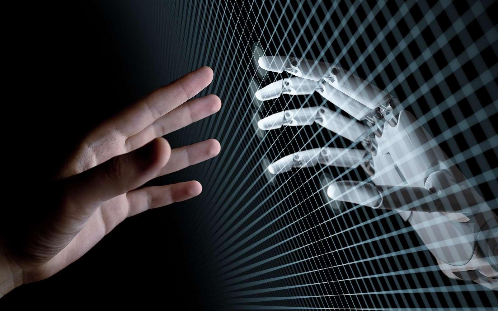 L'intelligence artificielle est souvent l'objet de fantasme de par sa représentation sous forme de robot. © Sergey, Adobe Stock.