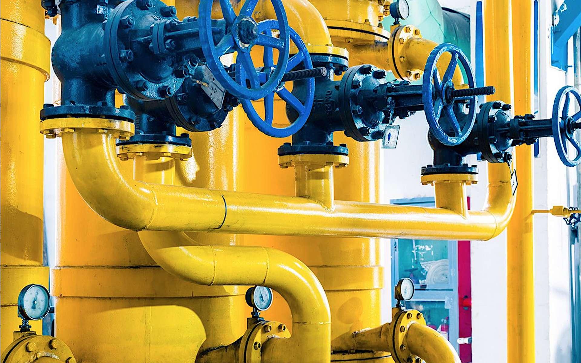 Les zones tarifaires du gaz. © Energy Community