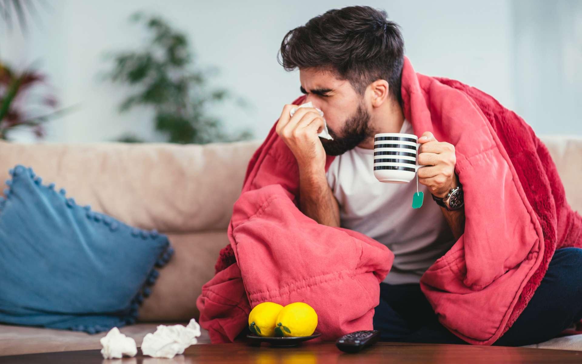 En 2017-2018, l'épidémie de grippe avait duré quatre mois et avait causé quelque 13.000 décès pour 2,4 millions de consultations. © Jovanmandic, IStock.com