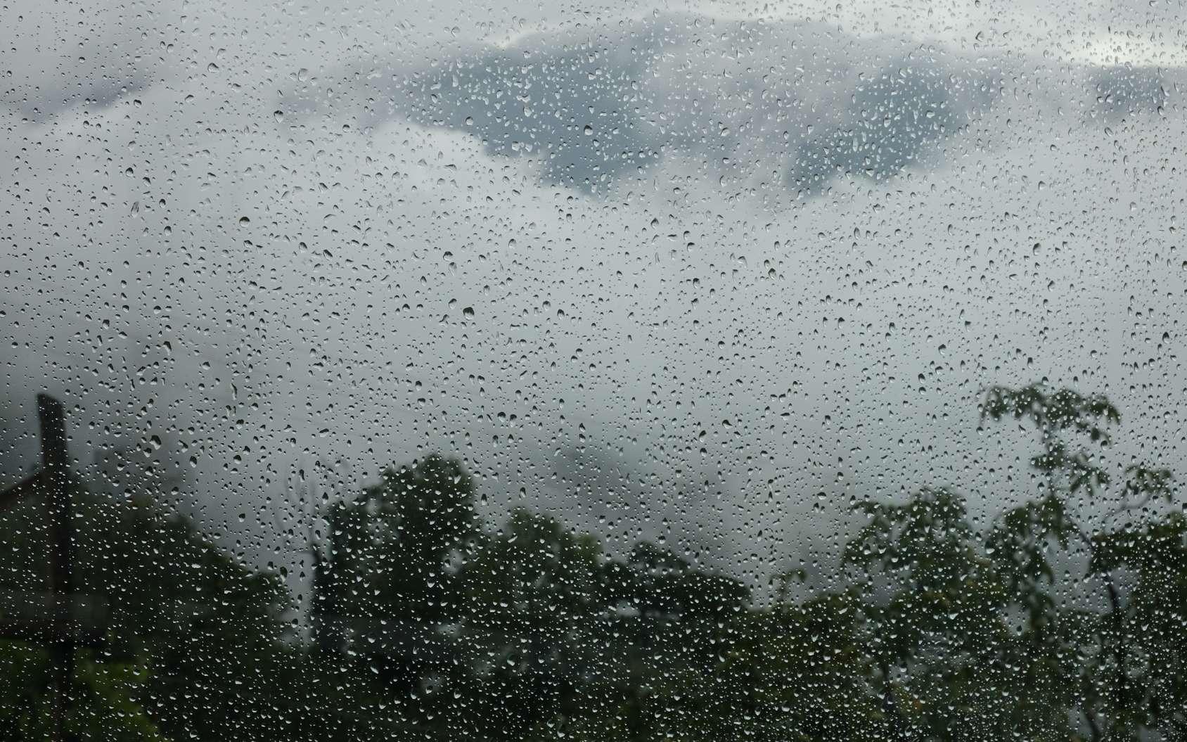 La taille des gouttes de pluie est limitée par l'altitude à laquelle celles-ci ont été créées et par les forces qui agissent sur elles. © Michael, fotolia