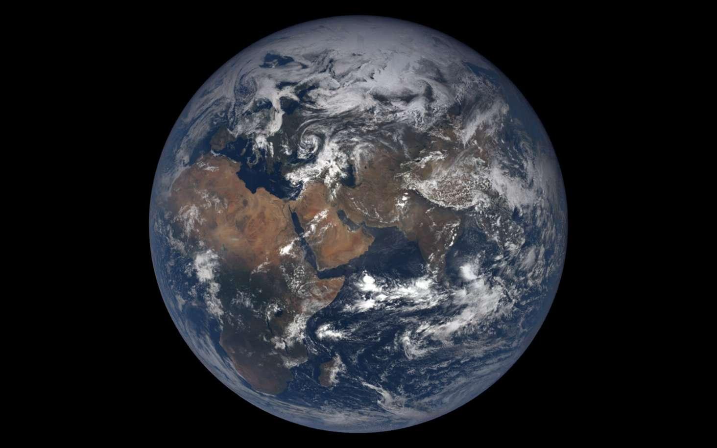 La Terre observée depuis le satellite DSCOVR de la Nasa. © Nasa, DSCOVR EPIC team