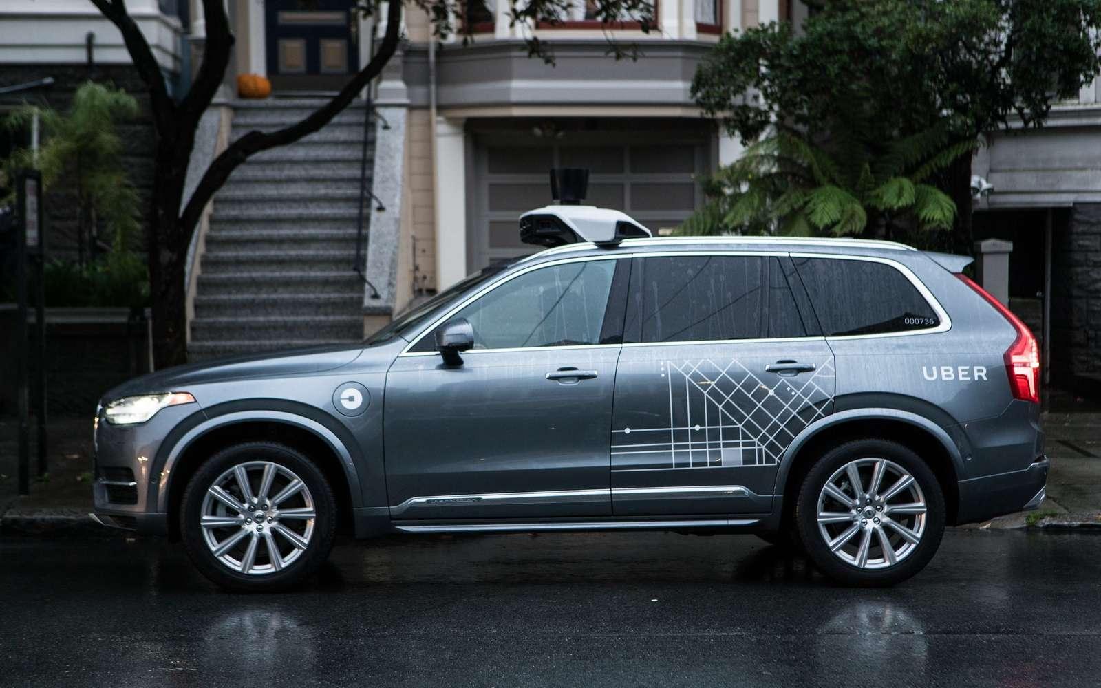 Uber a obtenu des autorisations de test de ses voitures autonomes dans plusieurs villes des États-Unis ainsi qu'au Canada. © Uber