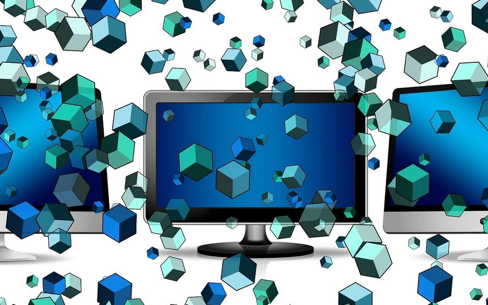 Lorsqu'un fichier est envoyé sur le réseau, il est découpé en plusieurs paquets. © Pixabay.com