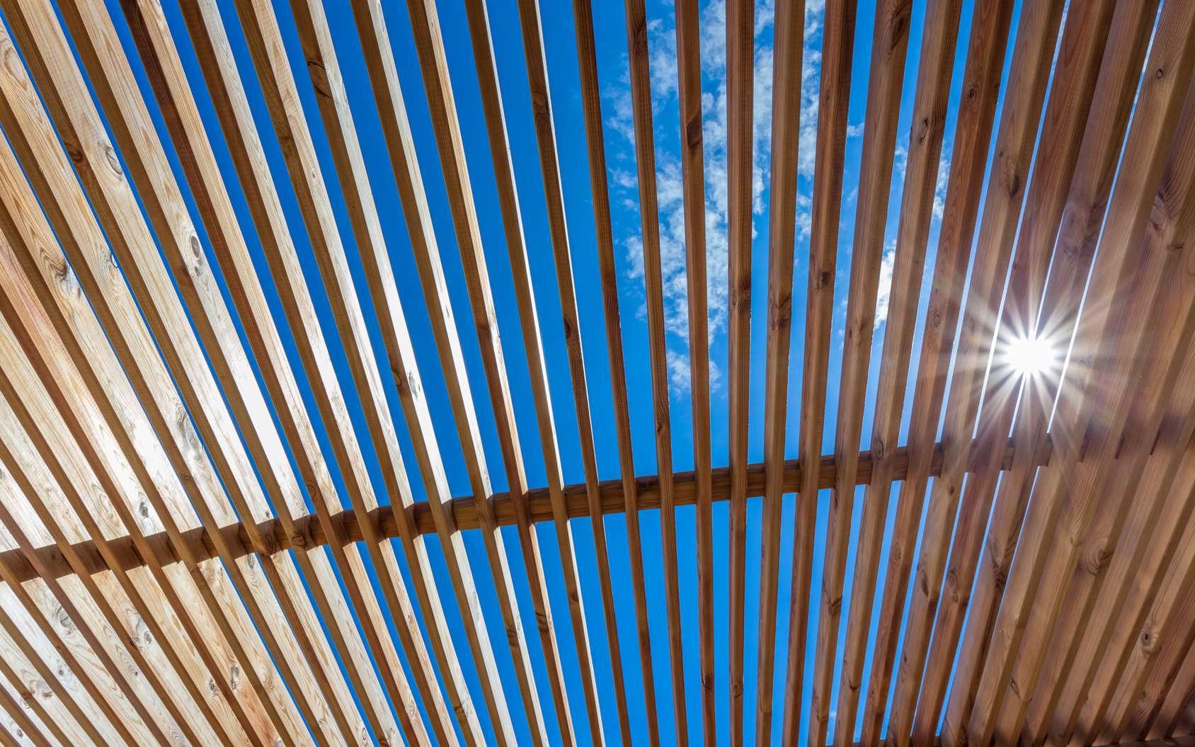 La pergola, un espace de vie où se protéger du soleil. © Unclesam, Fotolia