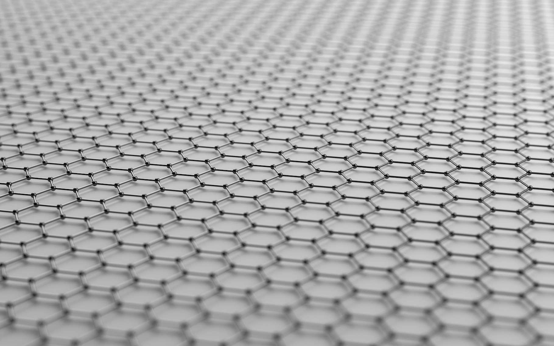 Des chercheurs de l'Ulsan National Institute of Science and Technology (Unist, Corée du Sud) ont mis au point une méthode qui permet de produire un graphène tout simplement… parfait ! © Alex, Adobe Stock