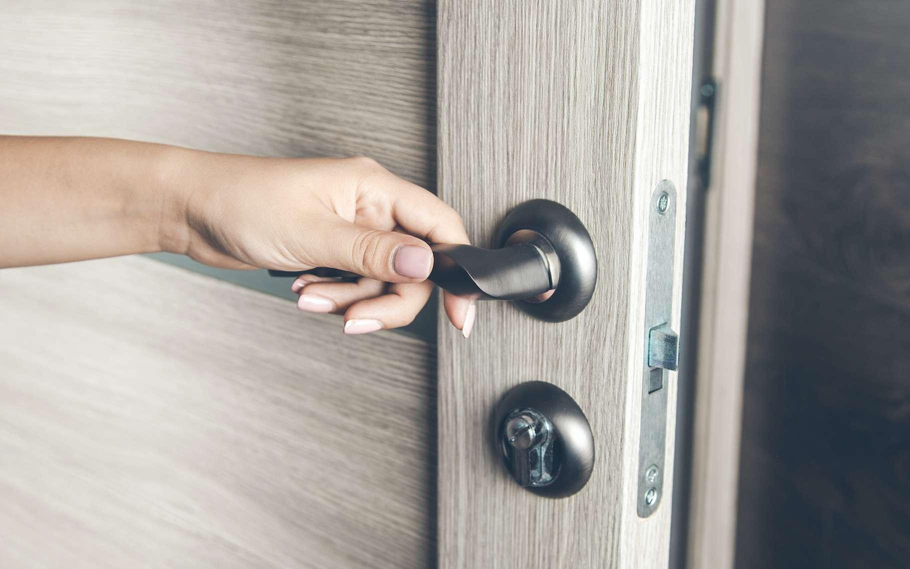 Demain, nos maisons seront probablement toutes équipées de serrures intelligentes. © Tiko, Adobe Stock