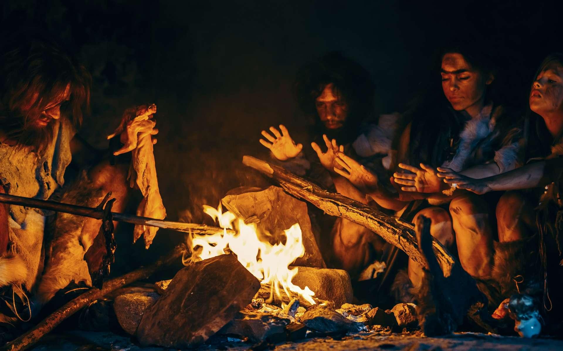 Au fond de la Border Cave en Afrique du Sud, des paléontologues ont découvert ce qui semble être un lit préhistorique. © Gorodenkoff, Adobe Stock