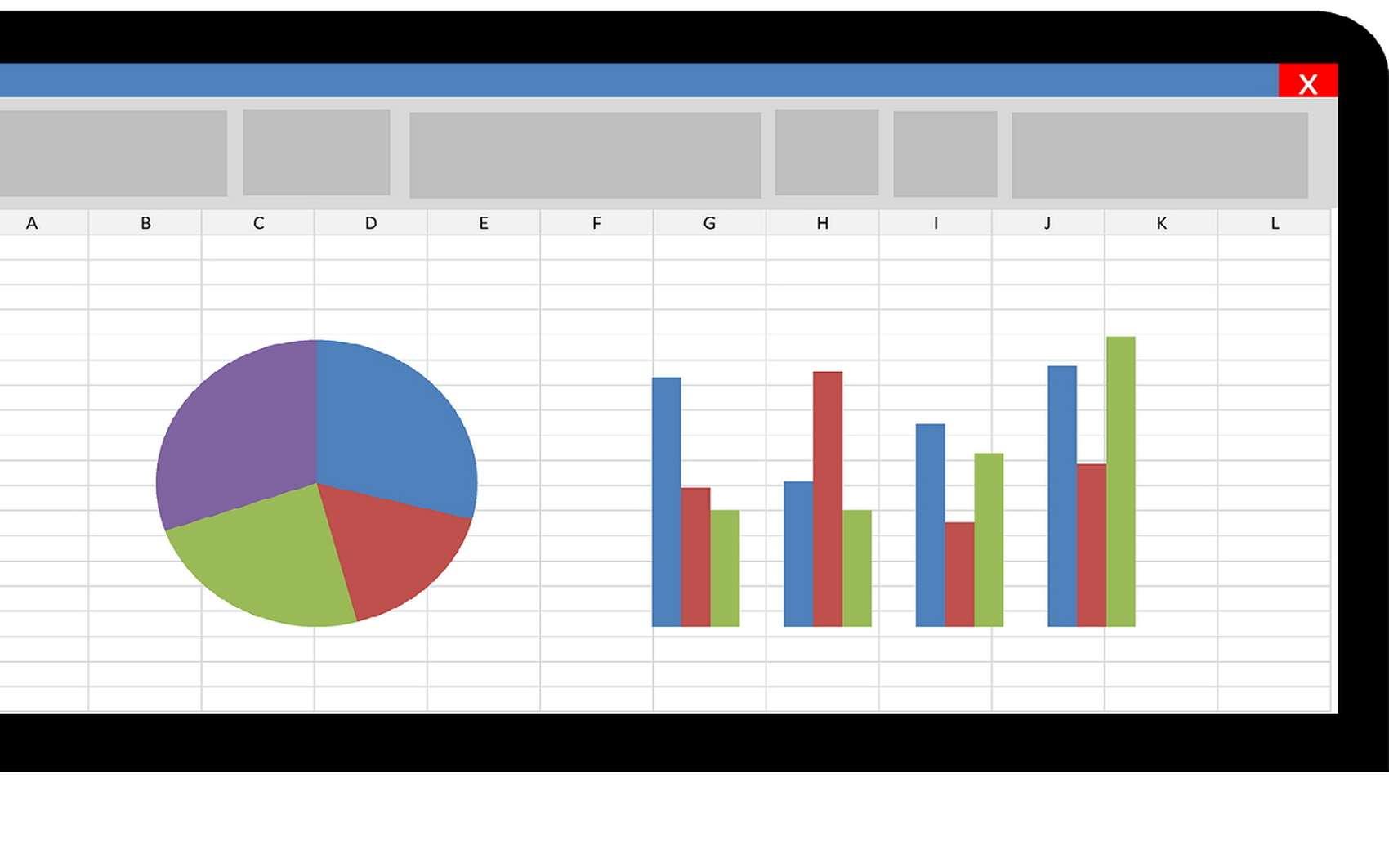 Futura vous explique comment compter le nombre d'occurrences d'un élément présent dans un tableau Excel. © Microsoft