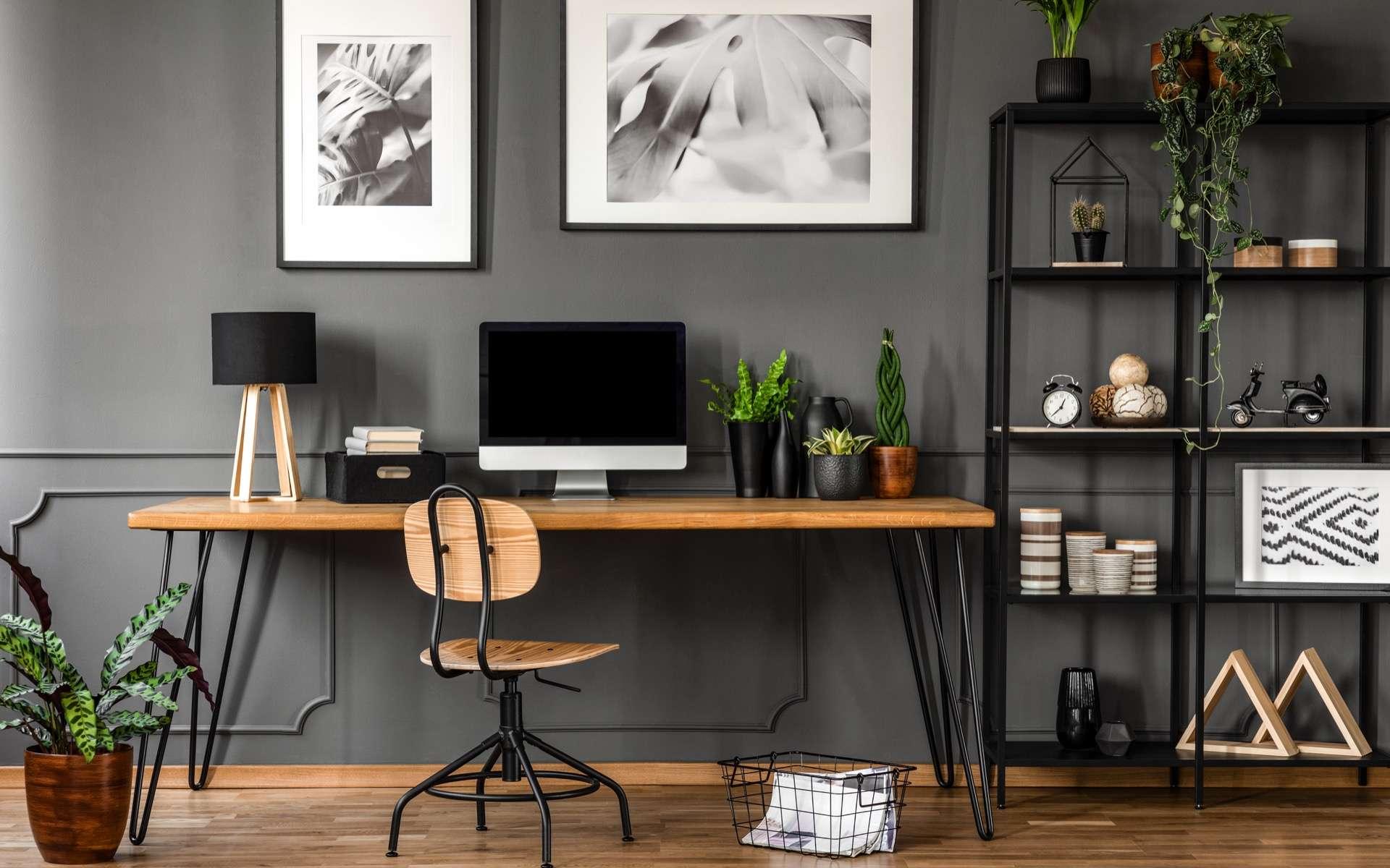 Comment bien aménager son coin bureau dans le cadre du télétravail ? © Photographee.eu, Adobe Stock