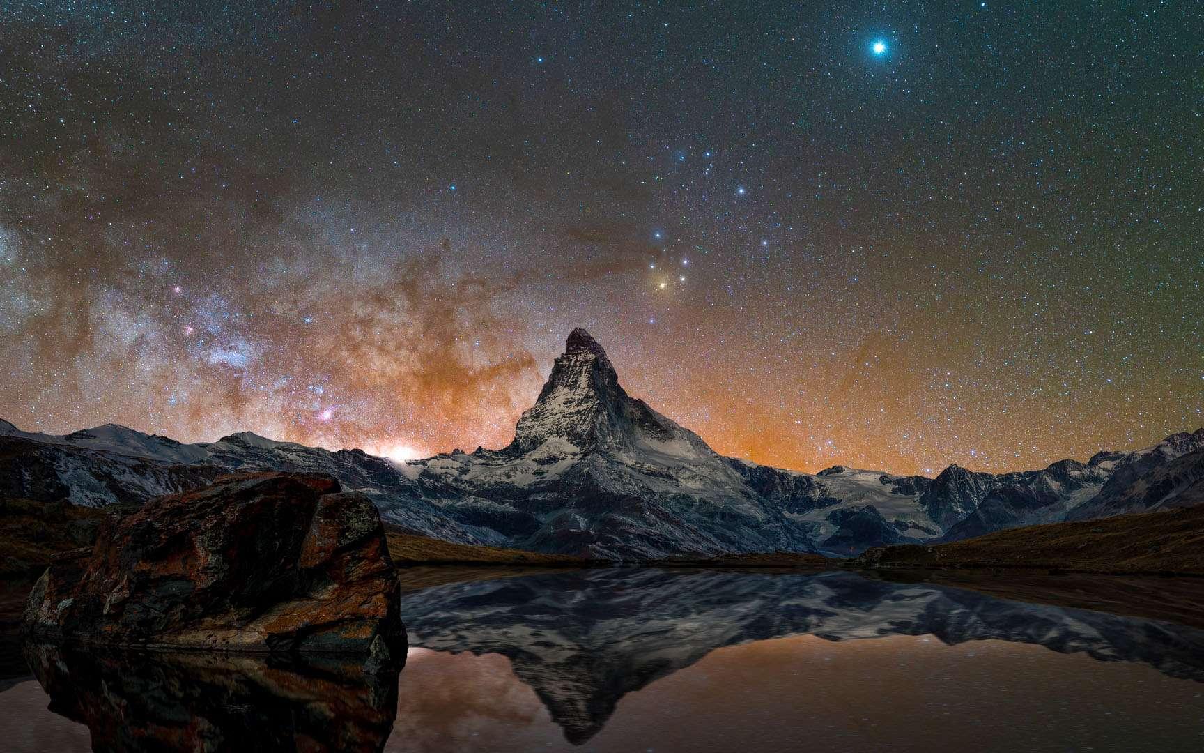 Vue du Cervin. © Delil Geyik, tous droits réservés