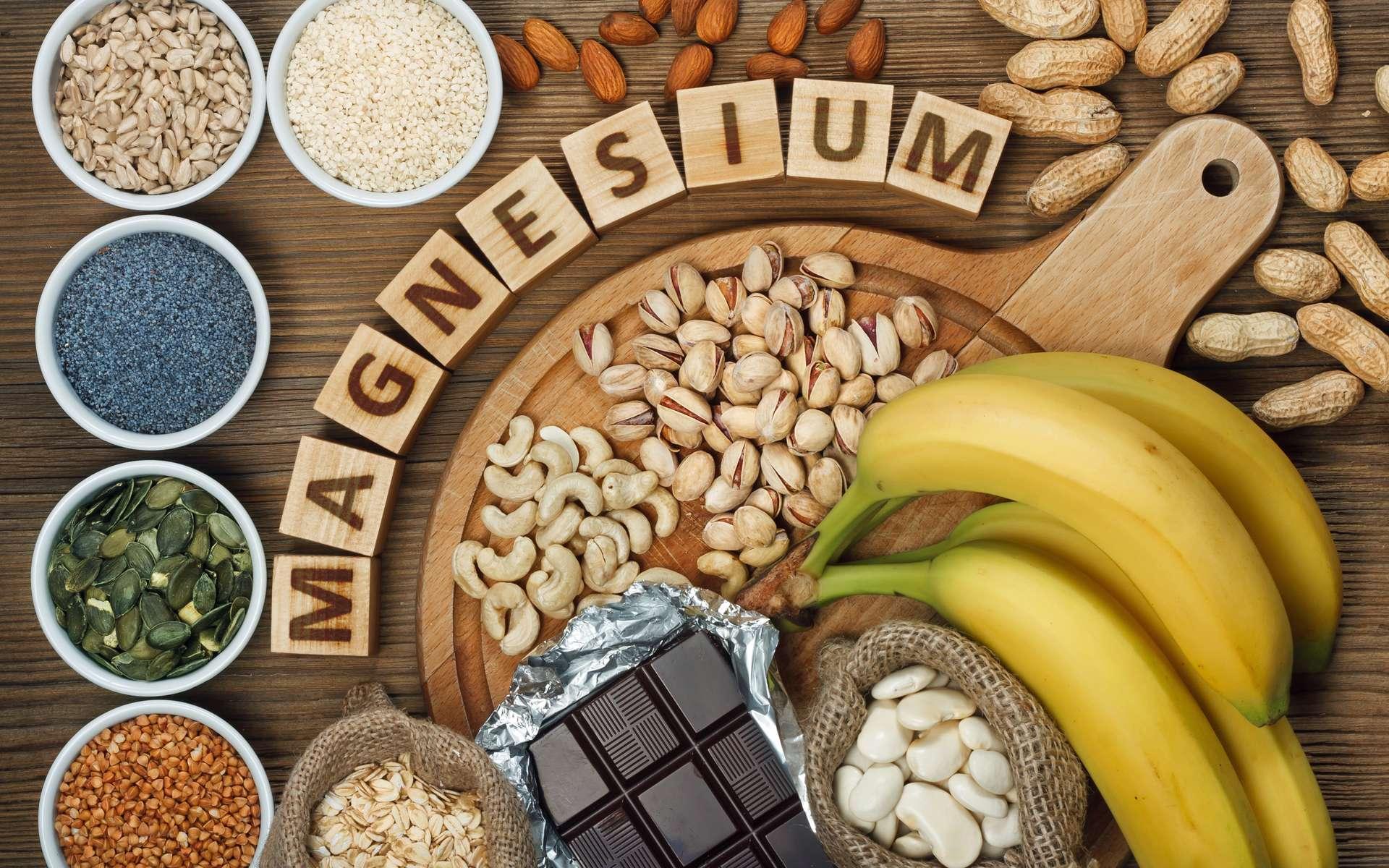 Pour éviter les carences, il faut avoir une alimentation riche en magnésium. © airborne77, adobe stock