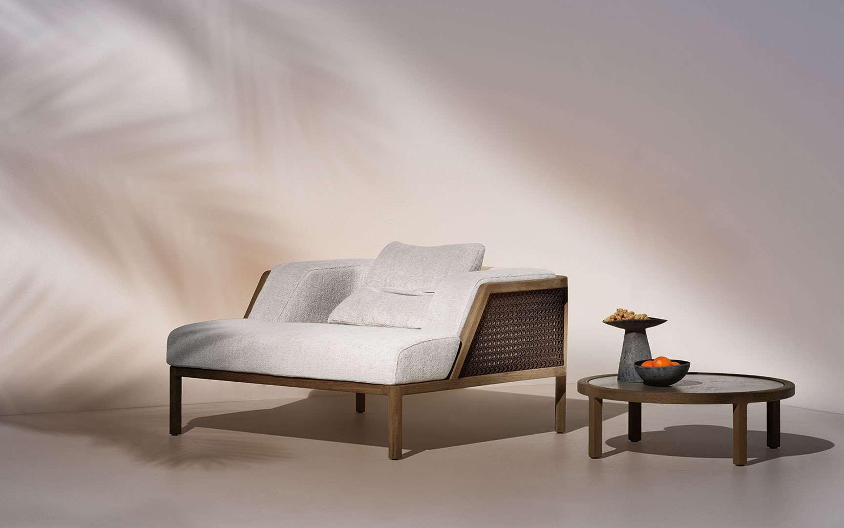 Le designer Christophe Pillet fait de l'écoresponsabilité des meubles une priorité. © Ethimo
