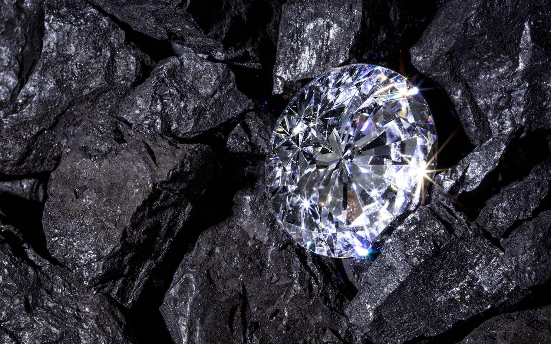Les diamants se sont formés il y a plus de 3 milliards d'années, dans le manteau supérieur de la Terre. © RTimages, Fotolia
