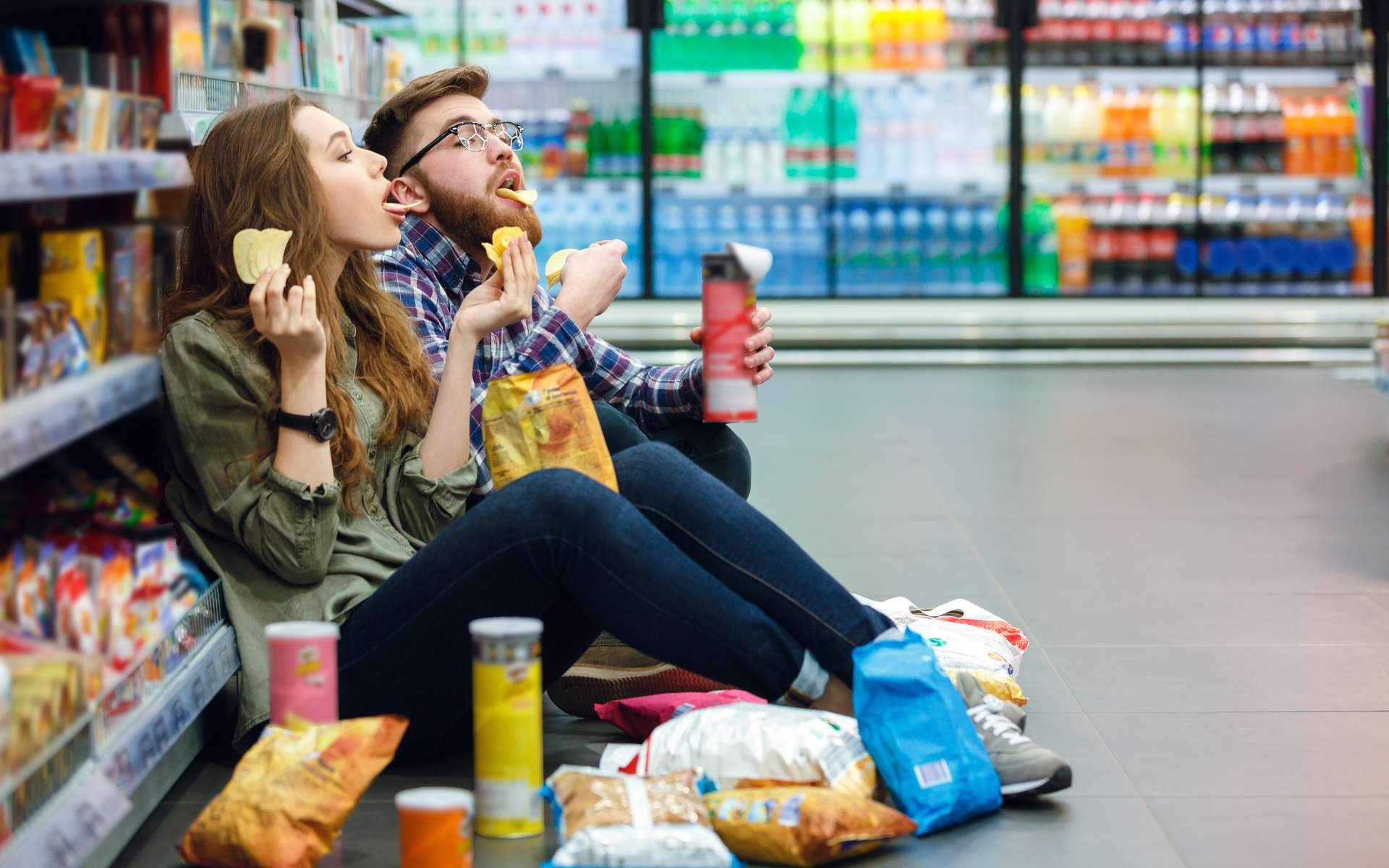 Pour 10 % d'aliments ultra-transformés en plus, c'est 15 % de risques en plus de développer un diabète de type 2. © Drobot Dean, Adobe Stock