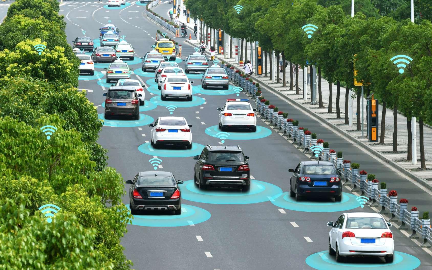 Les voitures autonomes pourraient avoir l'effet inverse à celui attendu sur le trafic automobile en aggravant les embouteillages au lieu de les faire disparaître. © zapp2photo