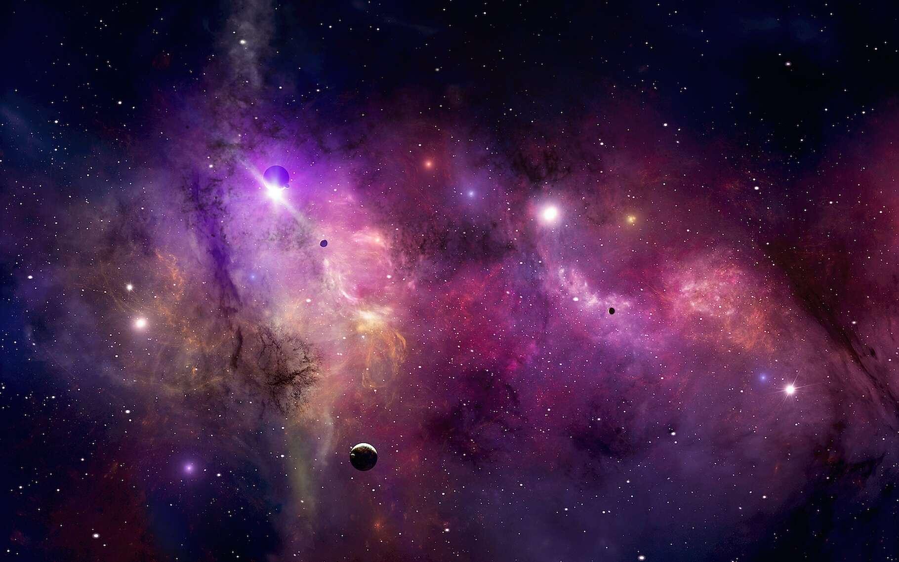 Grâce au télescope cosmologique d'Atacama (ACT, Chili), des chercheurs de l'université Cornell (États-Unis) viennent de déterminer que l'Univers a 13,77 milliards d'années. © alex_aldo, Adobe Stock