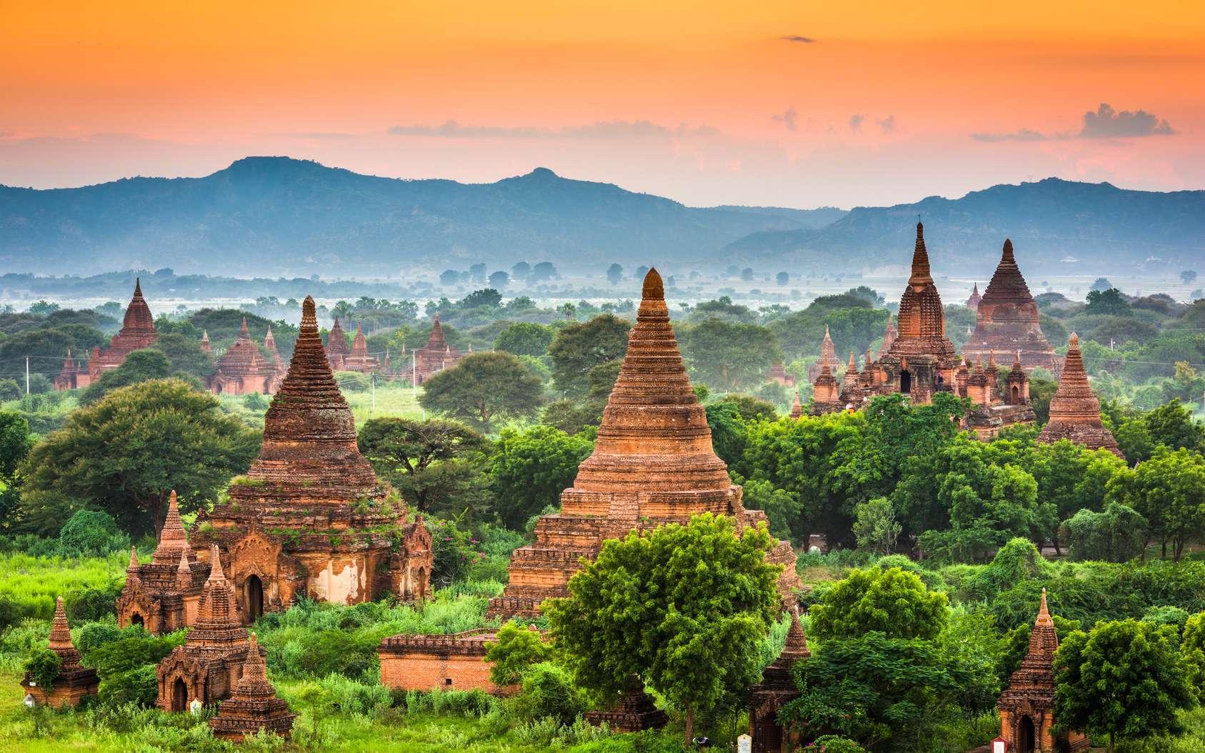Le temple de l'Ananda, à Bagan, en Birmanie, est l'une des premières sauvegardes numériques réalisées dans le cadre du projet Open Heritage. © SeanPavonePhoto, Fotolia