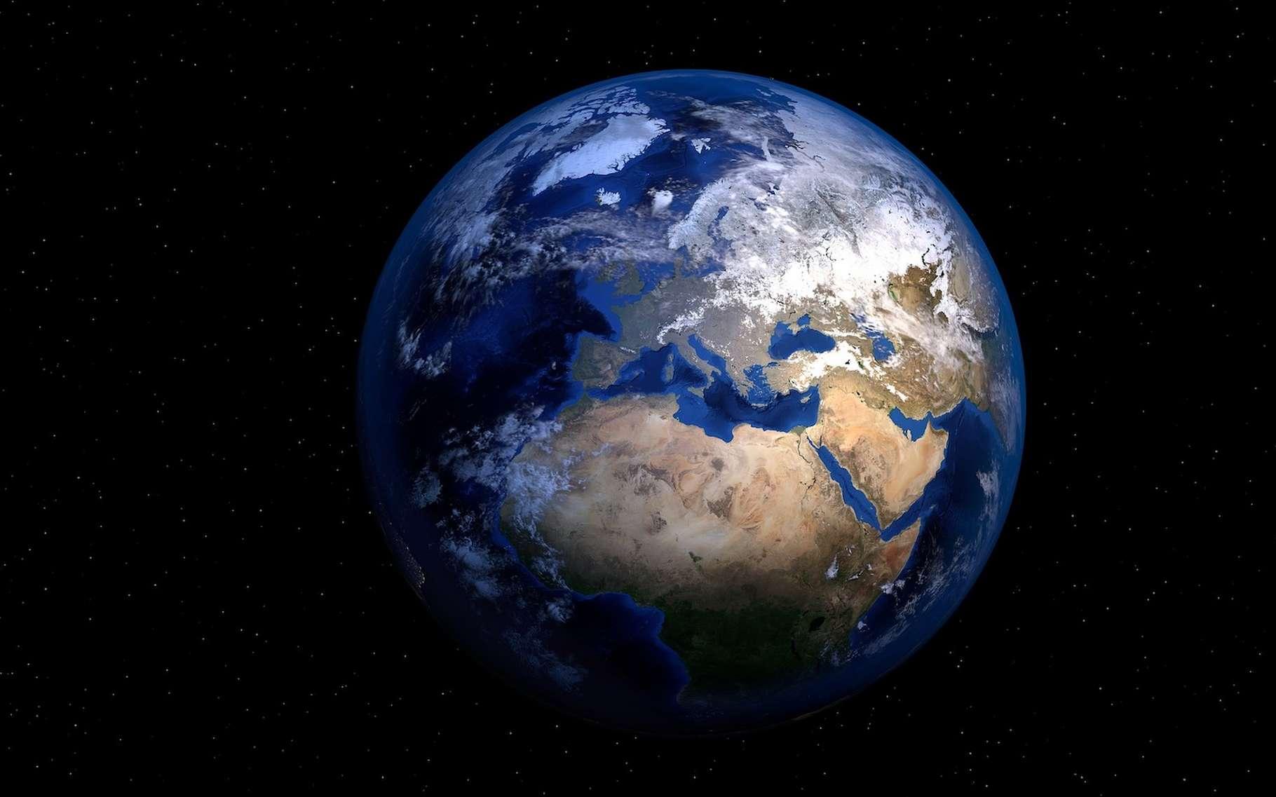 Des chercheurs ont étudié dans le potassium un état inhabituel et pourtant stable de la matière, à la fois solide et liquide. Un état apparu dans des conditions semblables à celles qui existent dans le manteau de la Terre. © PIRO4D, Pixabay License