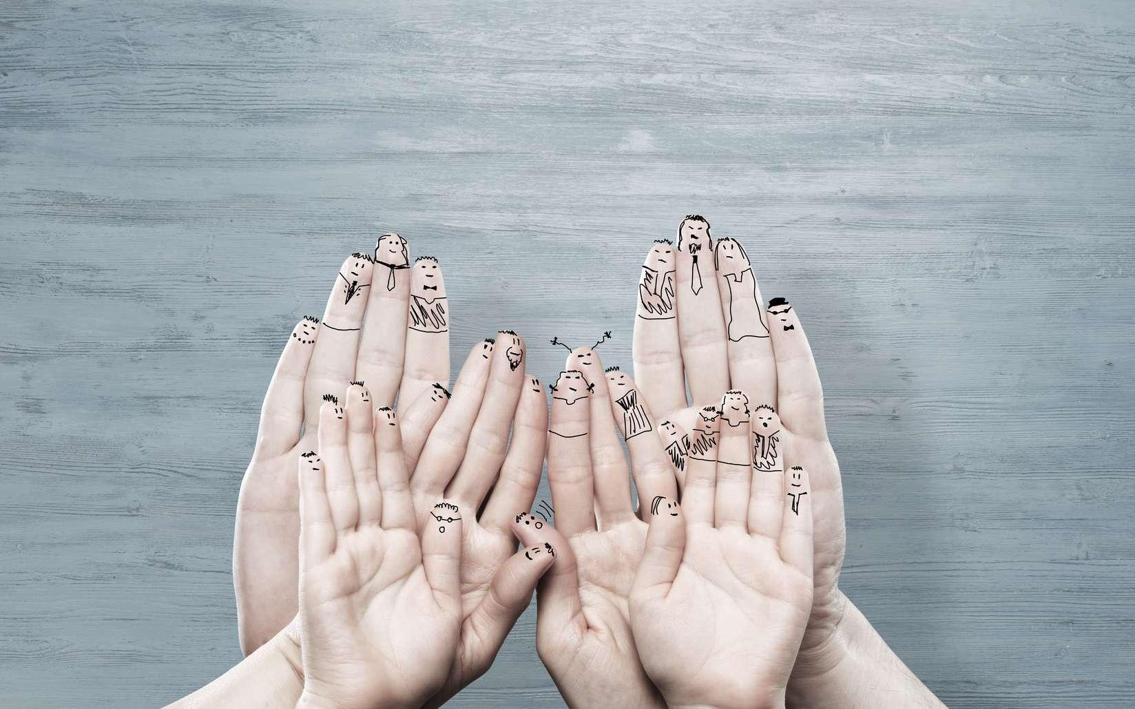 Peut-on juger quelqu'un à la taille de ses doigts ? © adam121, Fotolia