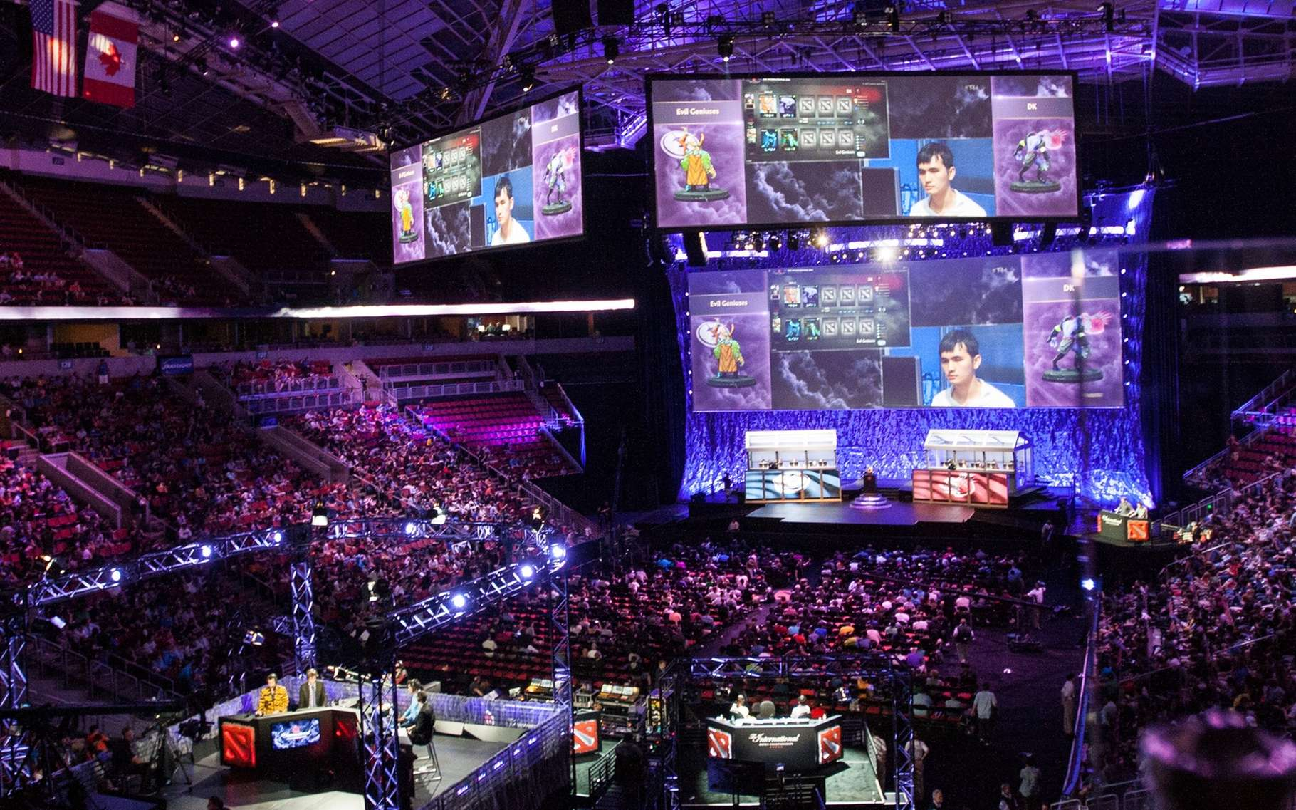 Les compétitions de jeux vidéo se déroulent dans le monde entier. Les évènements les plus importants réunissent les meilleurs joueurs de la planète qui s'affrontent en individuel ou par équipe. © Jakob Wells, Wikimedia Commons, CC by 2.0