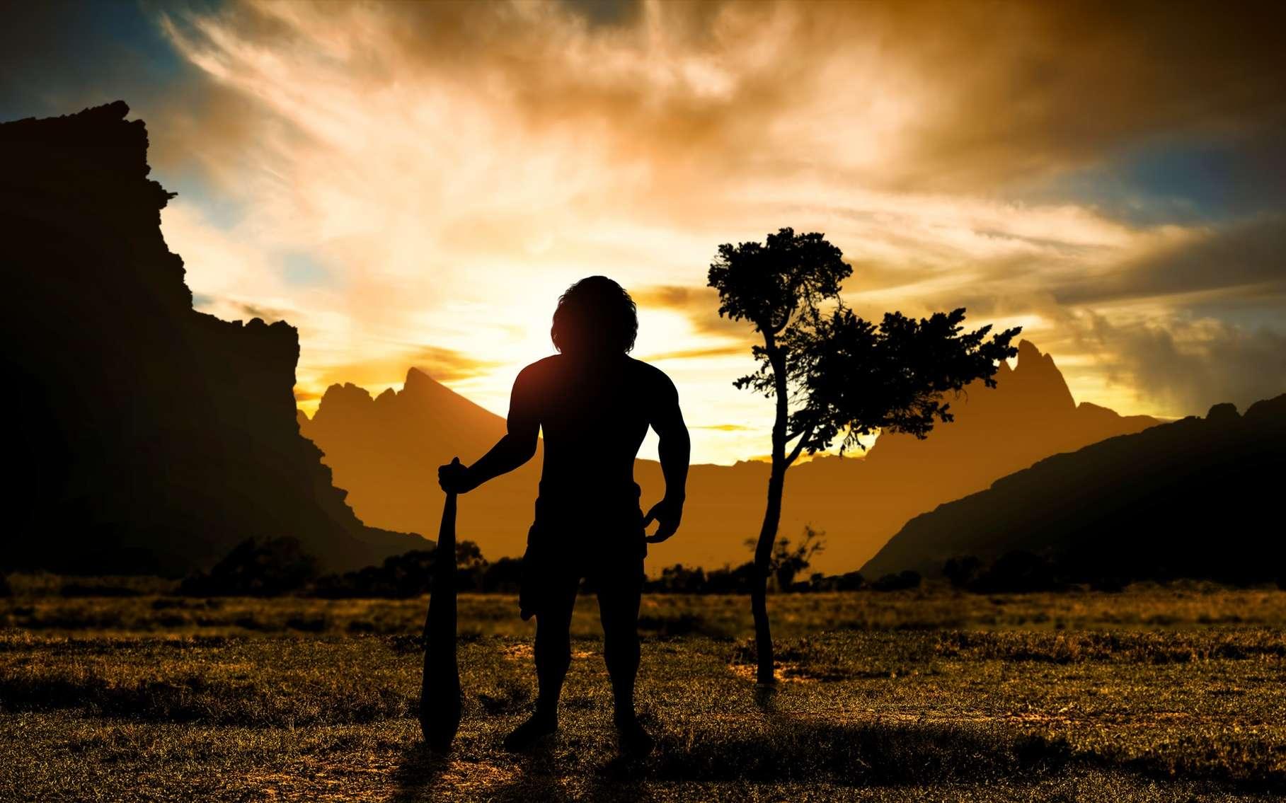 L'homme de Neandertal a cohabité avec l'homme moderne. © ginettigino, Fotolia