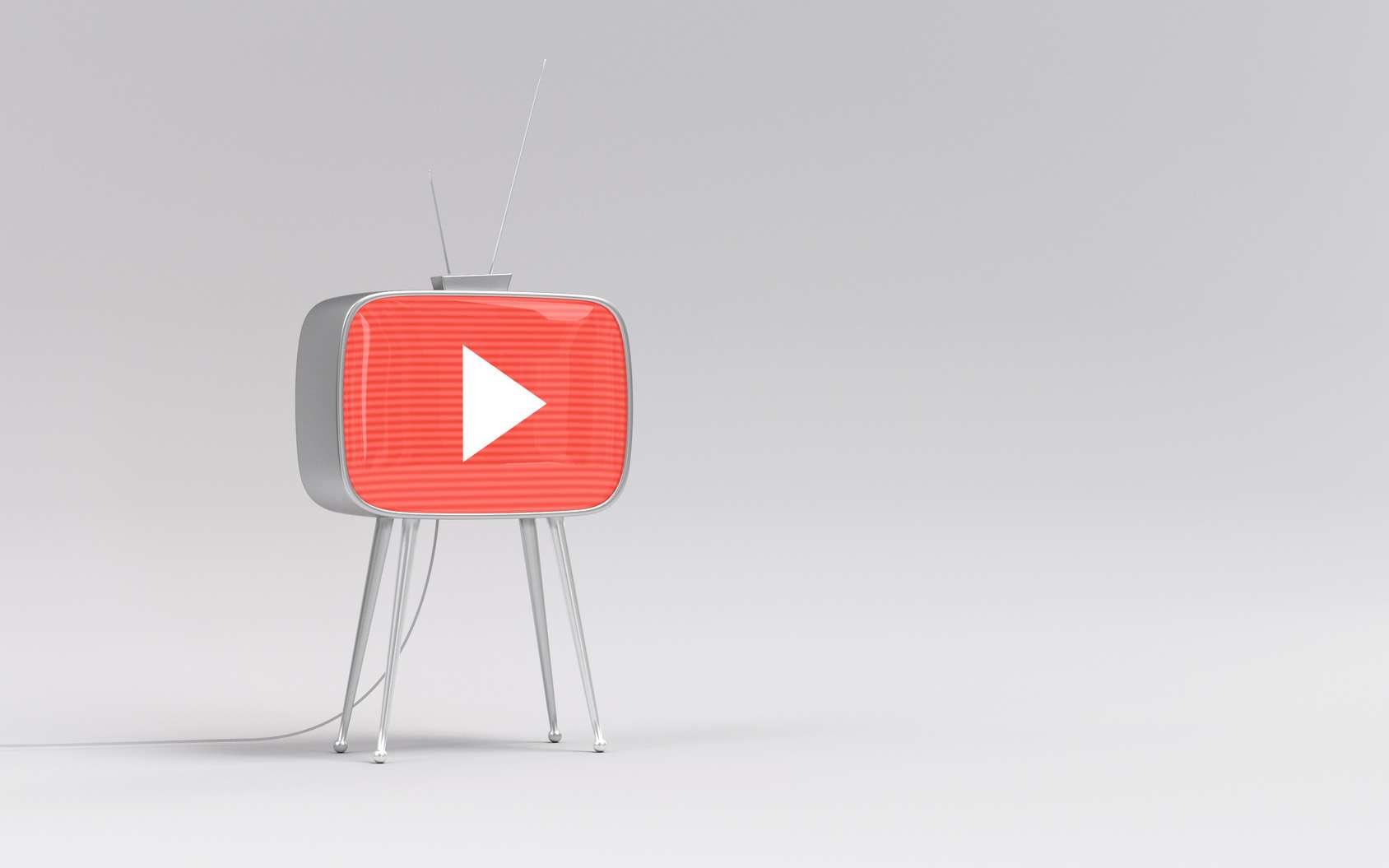 Selon les statistiques de Google, chaque jour, plus d'un milliard d'heures de vidéo sont consultées sur YouTube (chiffres de février 2017). © Stan Fisher, Fotolia