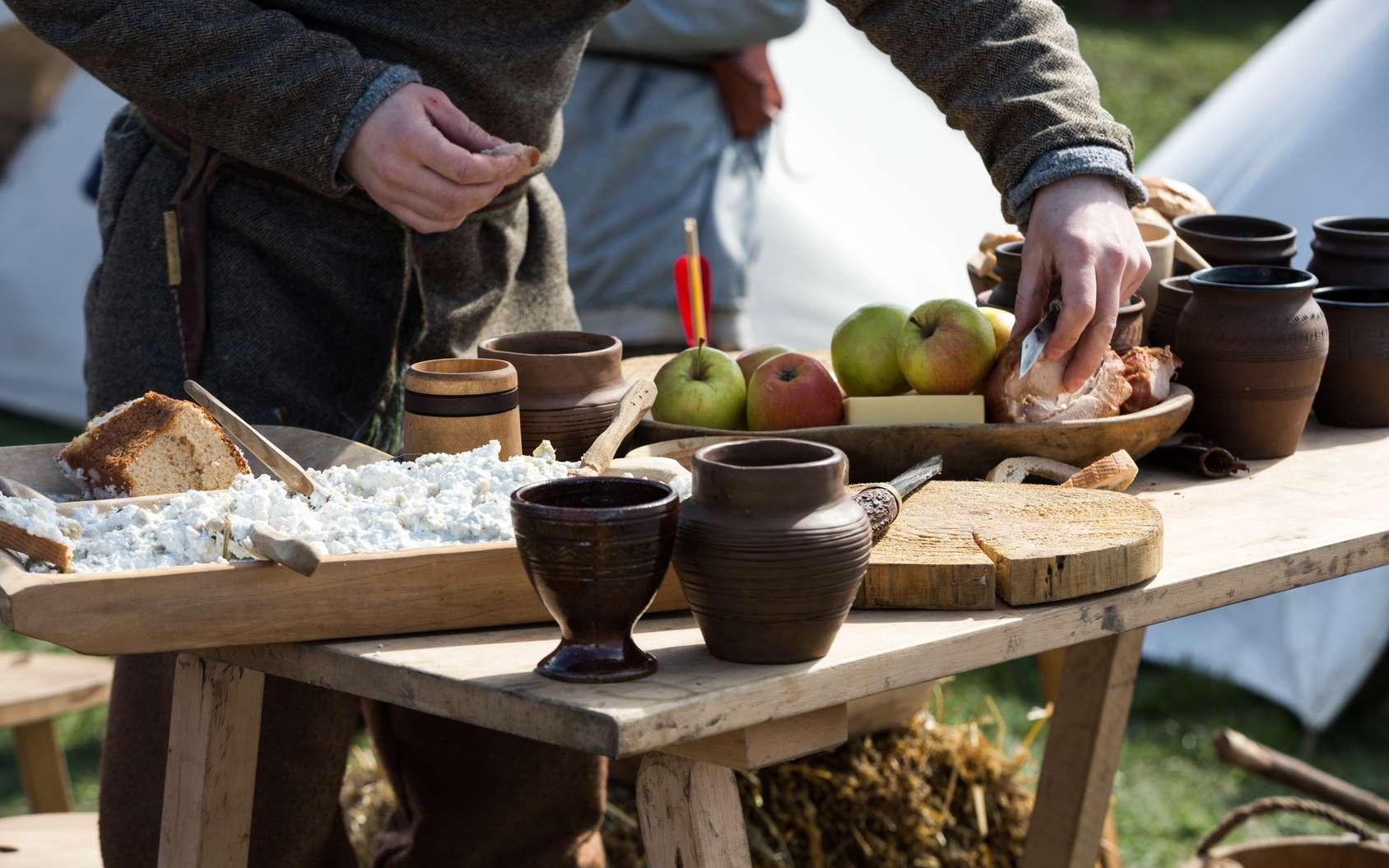 Le blé est très utilisé dans la cuisine du Moyen Âge, surtout chez les pauvres. © wjerek, Fotolia
