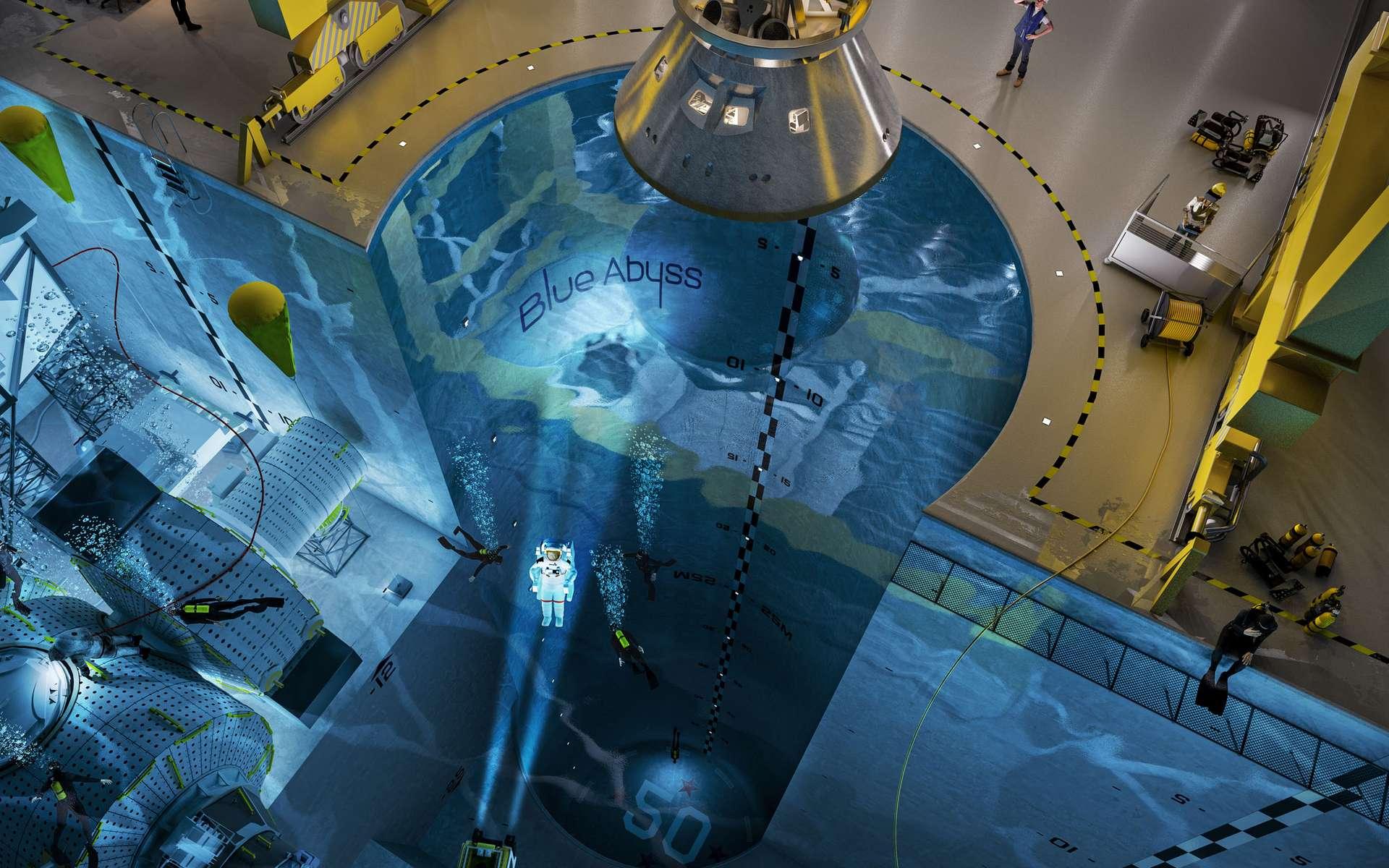 L'ouverture du complexe Blue Abyss est prévu pour 2023. © Blue Abyss