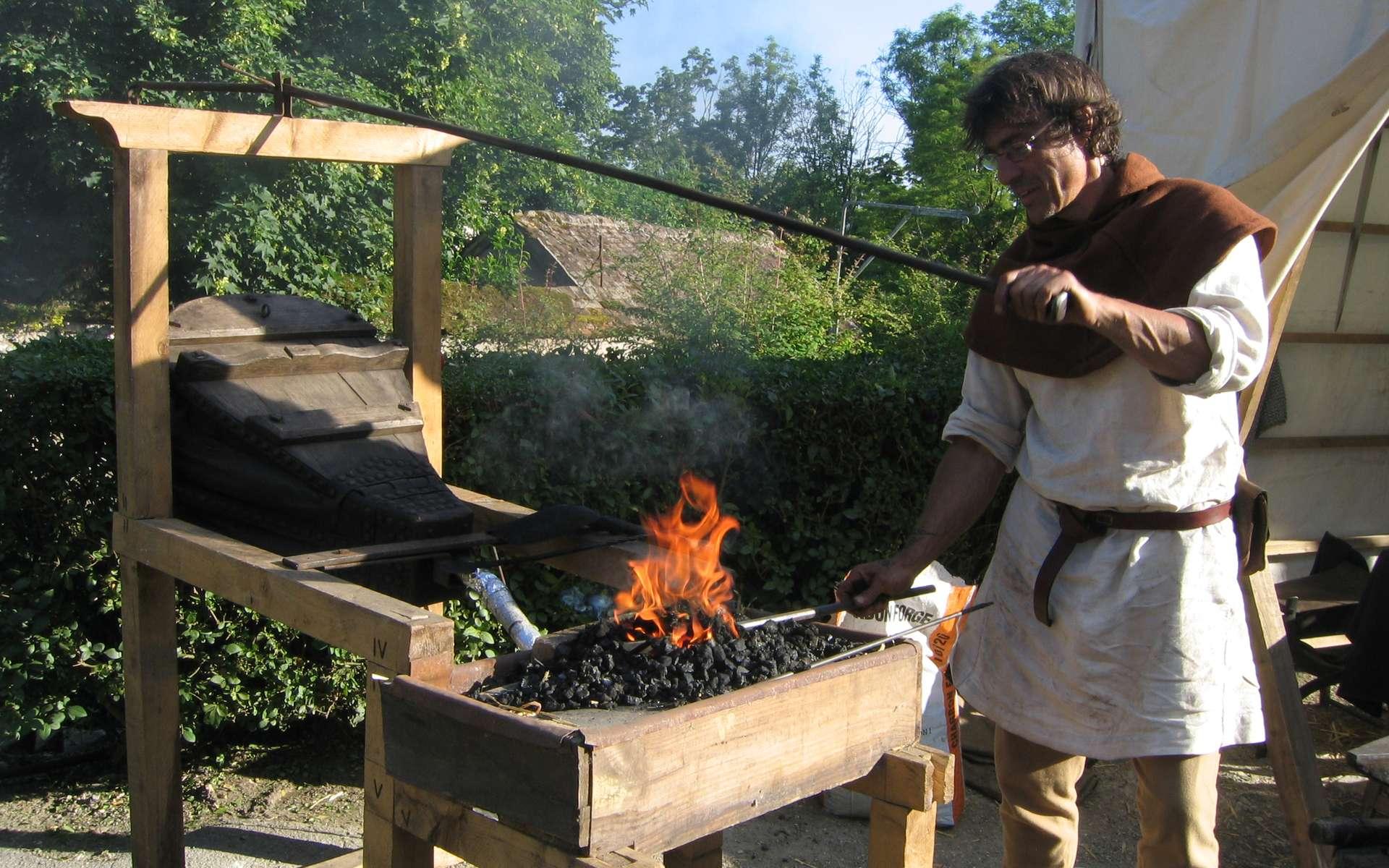 L'artisanat au Moyen Âge reste très mal perçu par le clergé. © Thesupermat, Wikimedia Commons, CC by-sa 3.0