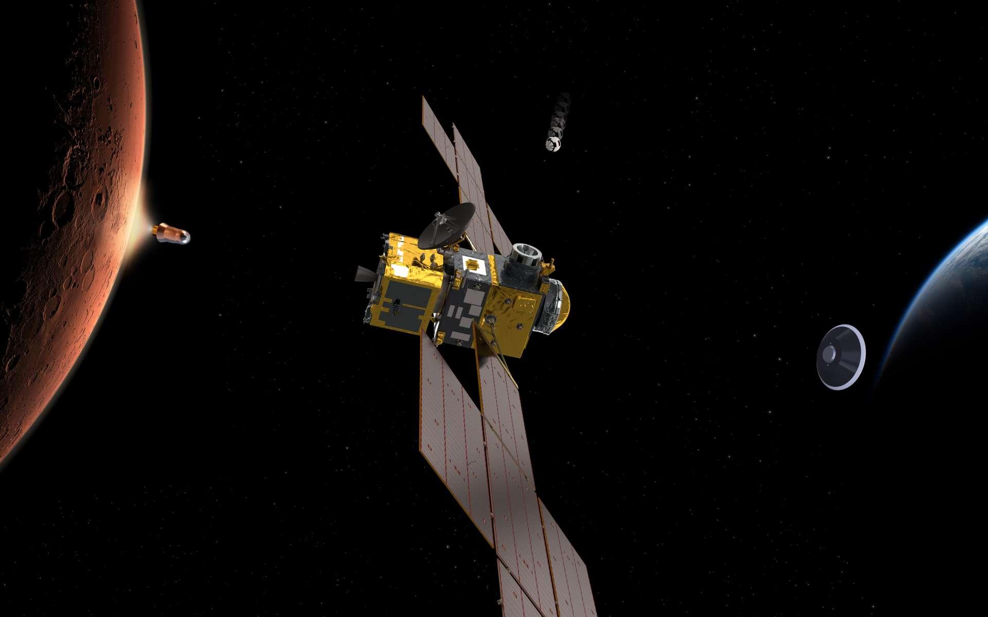 Le rover ExoMars Rosalind Franklin, une des nombreuses missions à destination de Mars qui seront lancées en 2020. © ESA, ATG Medialab