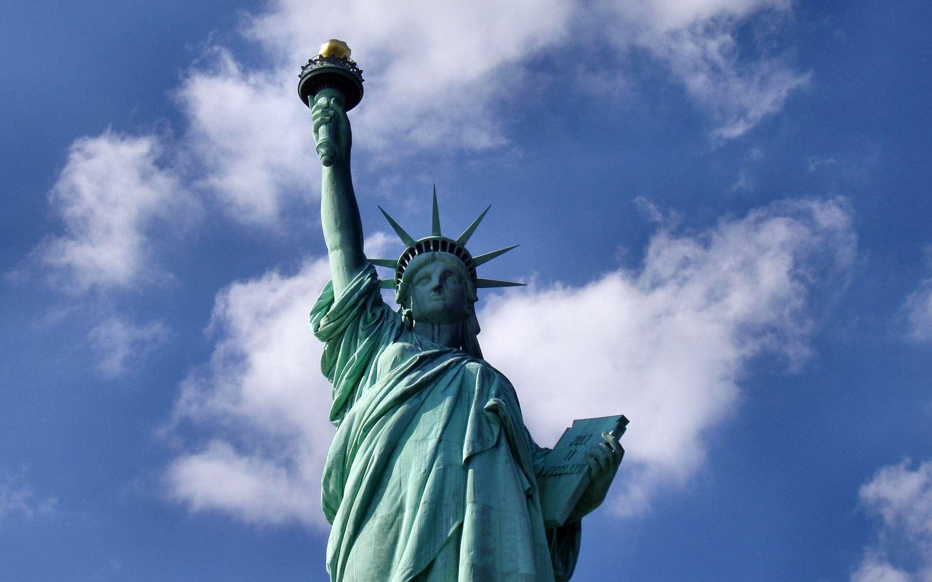 La statue de la Liberté, un des monuments incontournables de New York City. © Tysto, Wikimédia, CC by 2.0